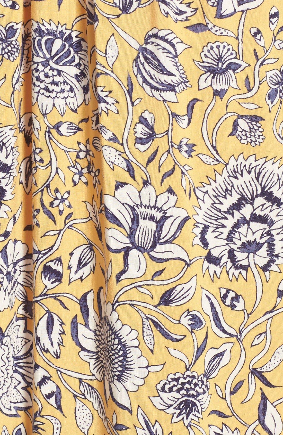 Alternate Image 5  - Lucky Brand 'Jemma' Floral Print Peasant Top