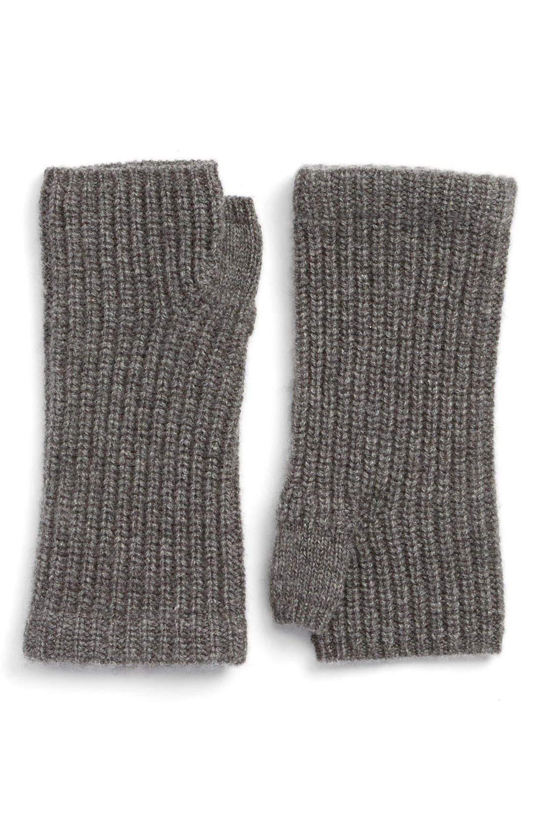 Main Image - rag & bone 'Alexis' Cashmere Fingerless Gloves
