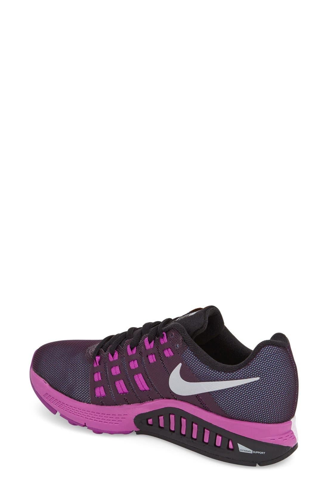Alternate Image 2  - Nike 'Air Zoom Structure 19' Running Shoe (Women)