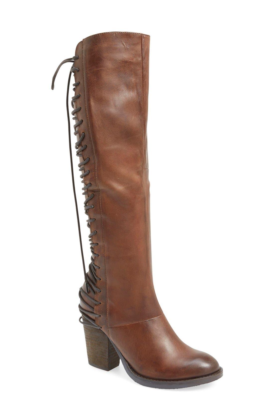 Alternate Image 1 Selected - Steve Madden 'Rikter' Knee High Boot (Women)