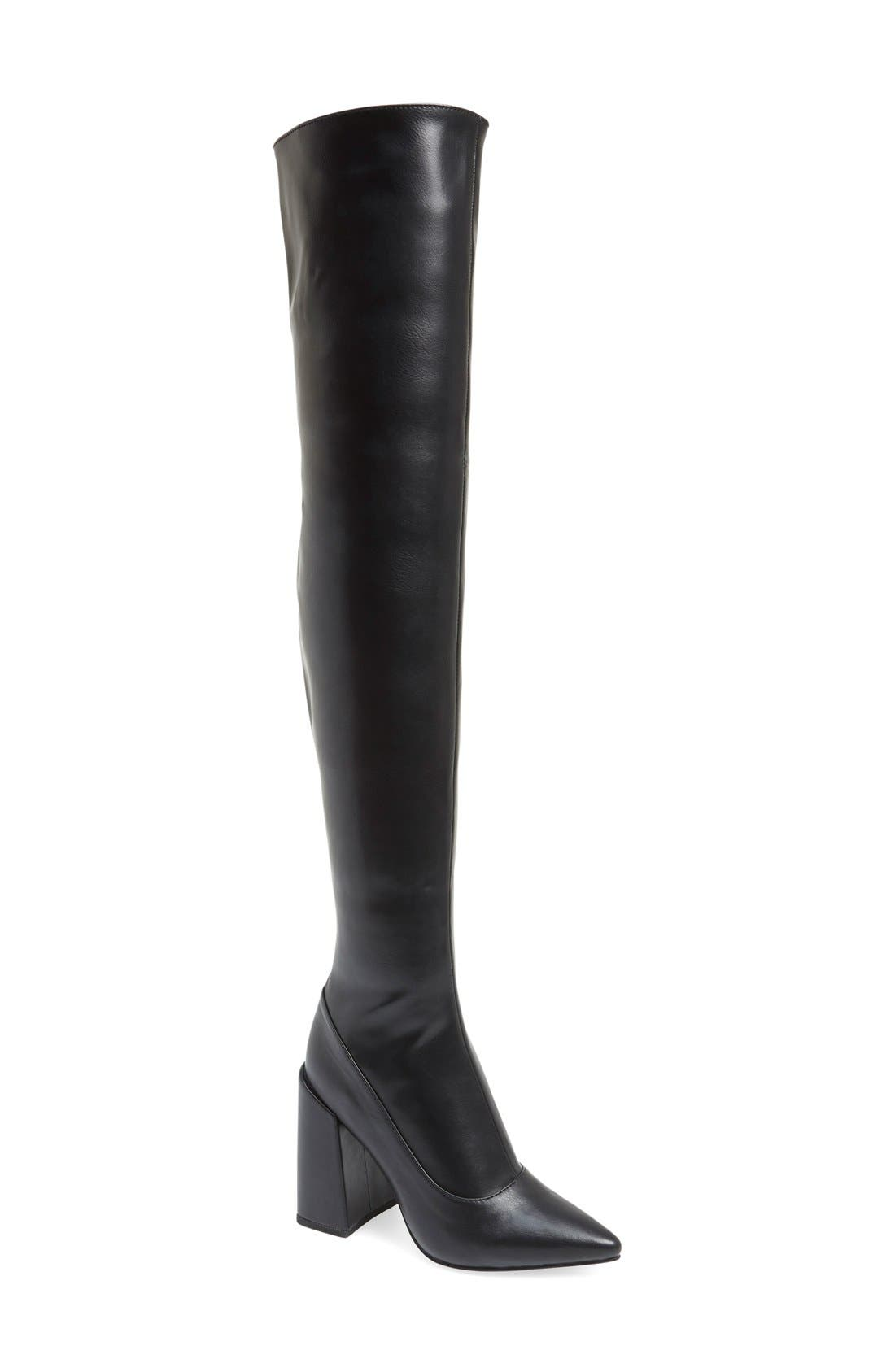 Alternate Image 1 Selected - Jeffrey Campbell 'Ransom' Over the Knee Boot (Women)