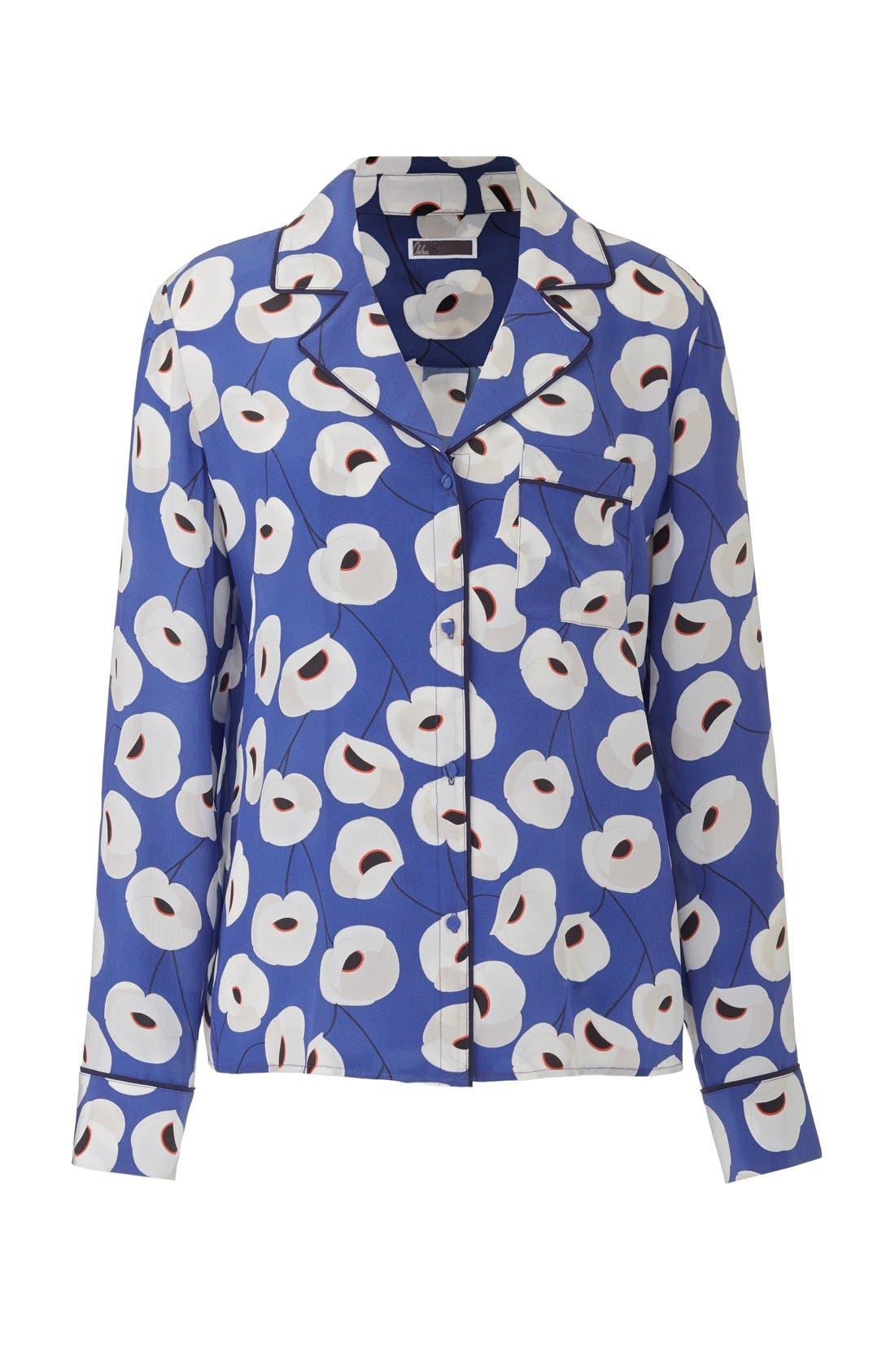 Alternate Image 7  - Olivia Palermo + Chelsea28 Silk Shirt