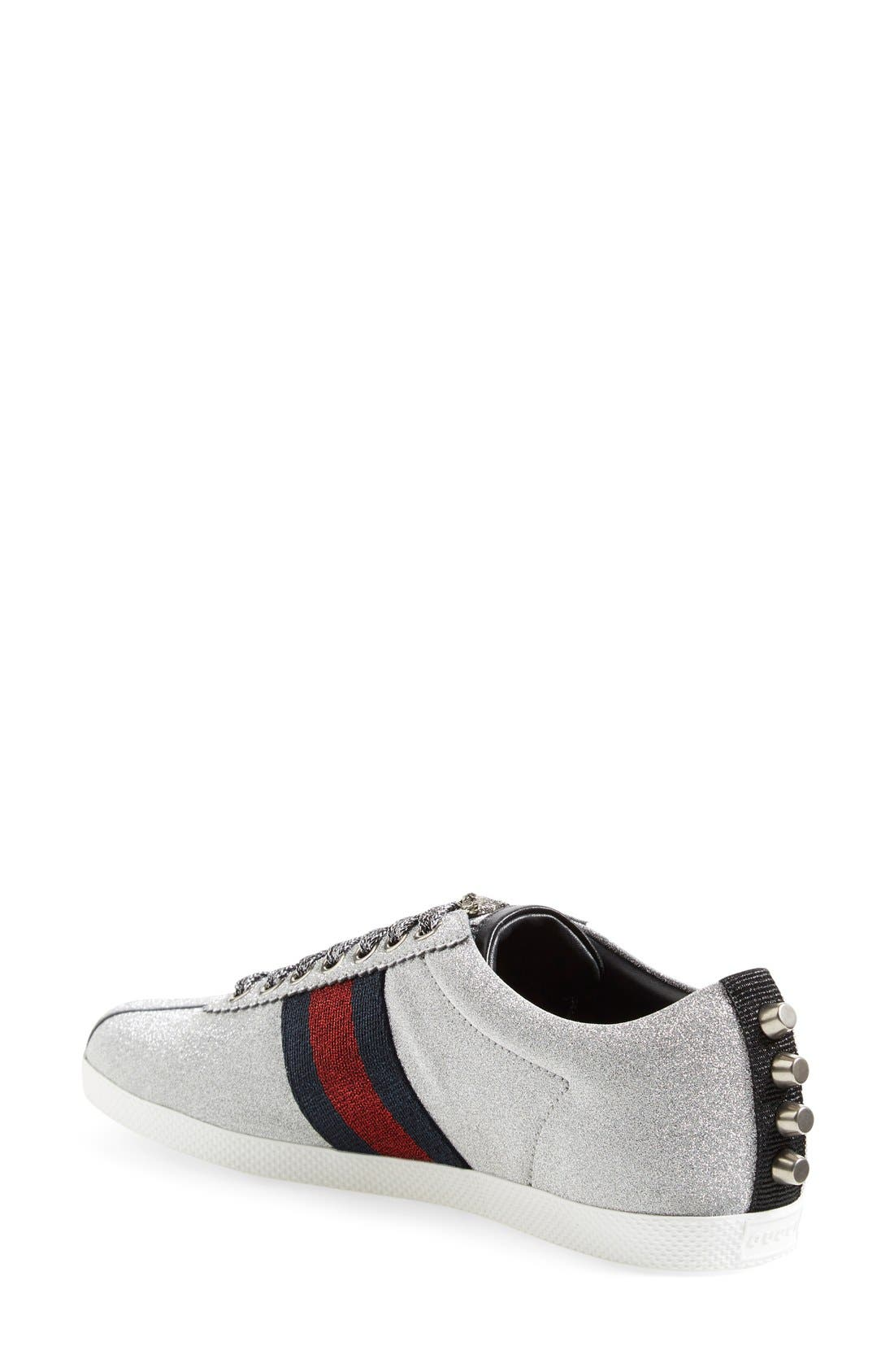 Alternate Image 2  - Gucci Lace-Up Sneaker (Women)