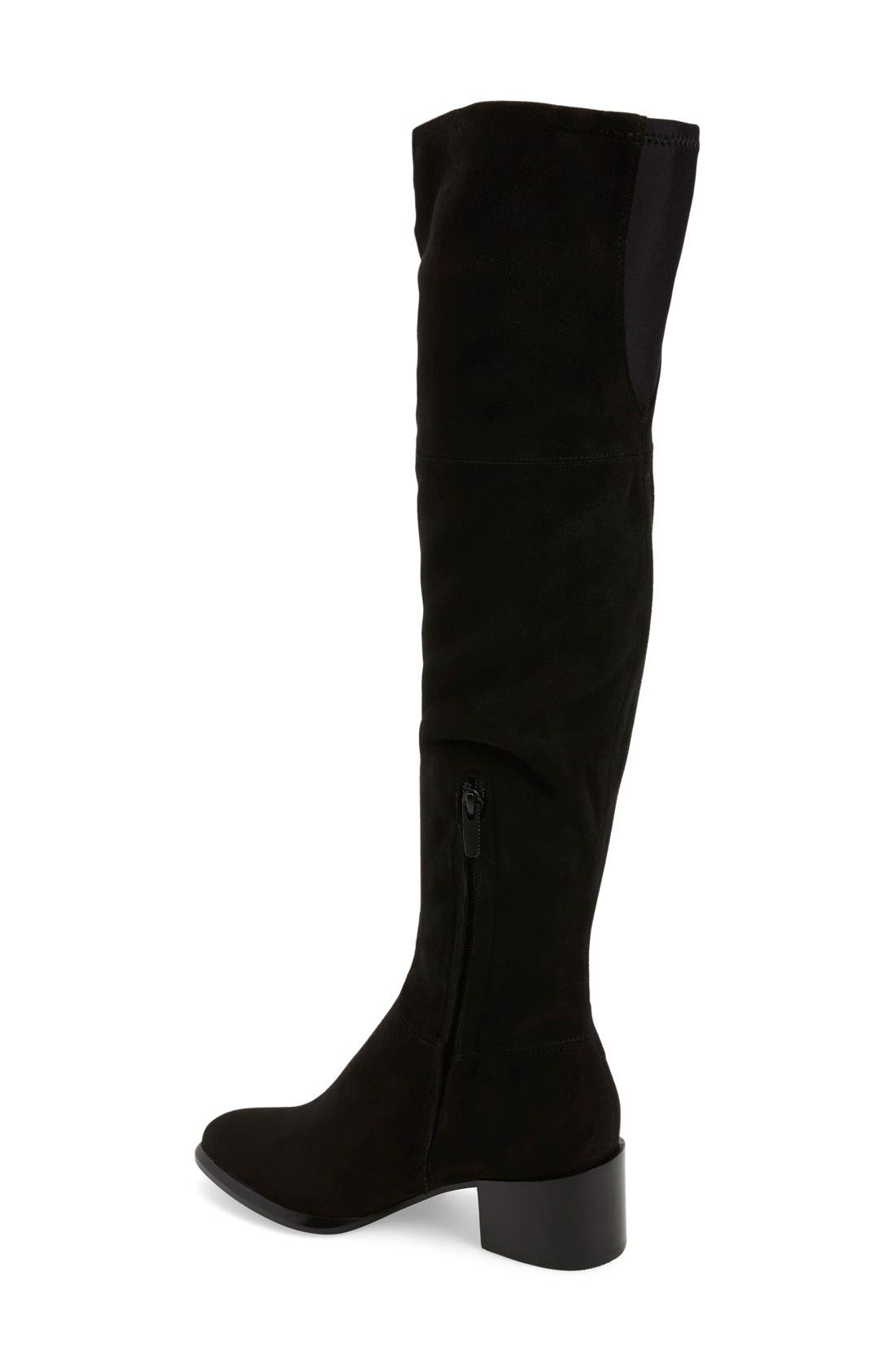 Alternate Image 2  - Calvin Klein 'Nani' Over The Knee Boot (Women) (Special Purchase)