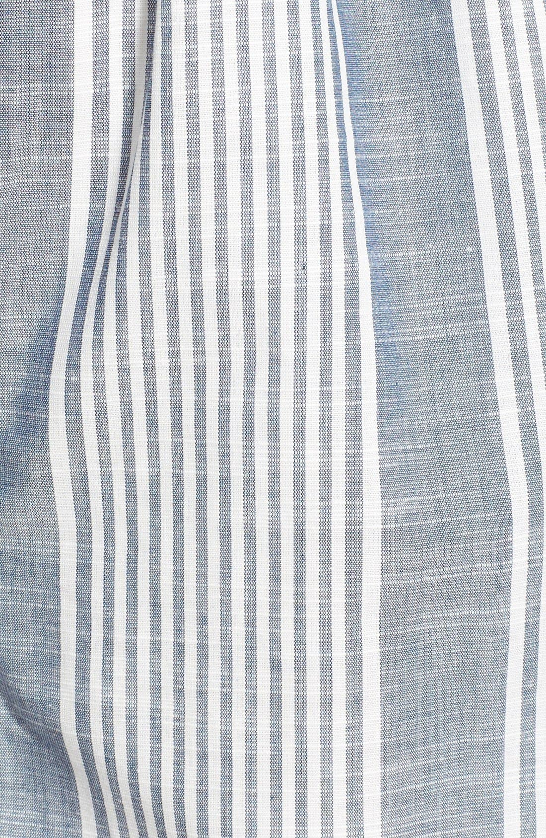 Alternate Image 5  - Lush Stripe V-Neck Romper