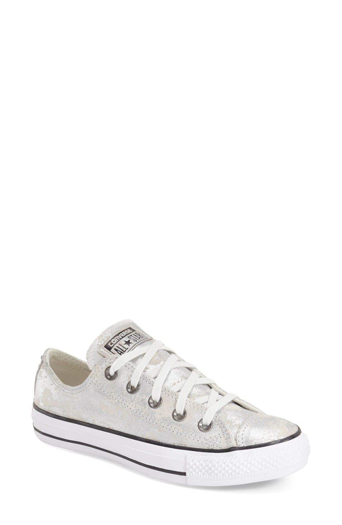 Alternate Image 1 Selected - Converse Chuck Taylor® All Star® 'Pyramid' Leather Sneaker (Women)