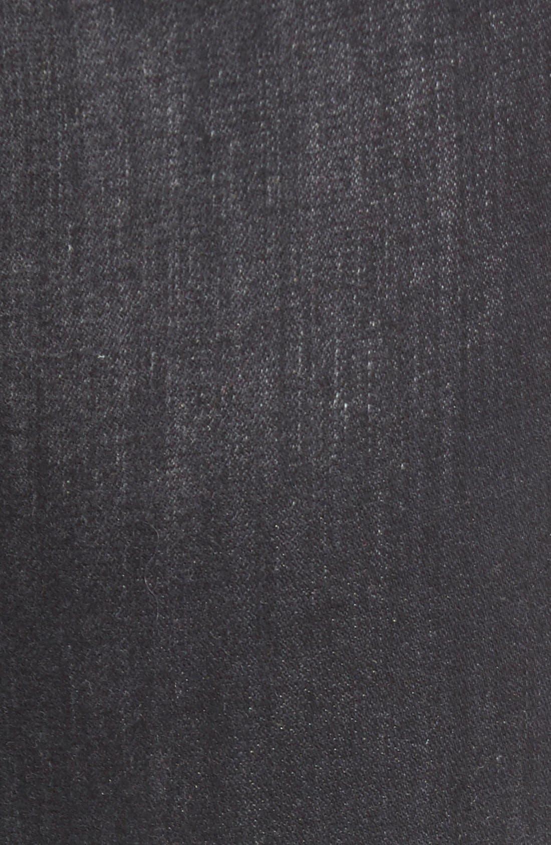 Alternate Image 5  - True Religion Brand Jeans 'Halle' Skinny Jeans (Authentic Black)