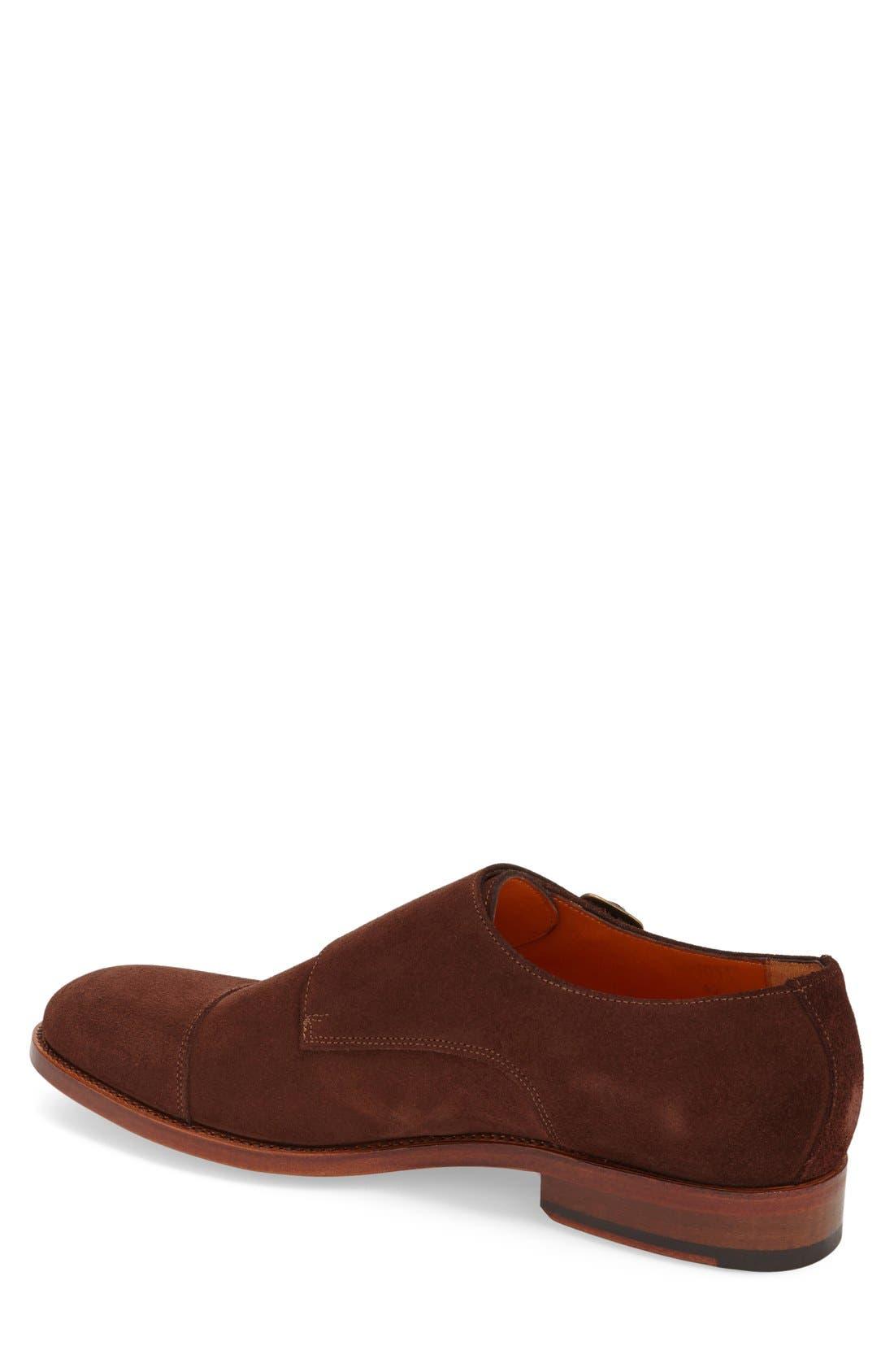 Alternate Image 2  - Crosby Square 'Diplomat' Double Monk Strap Shoe (Men)