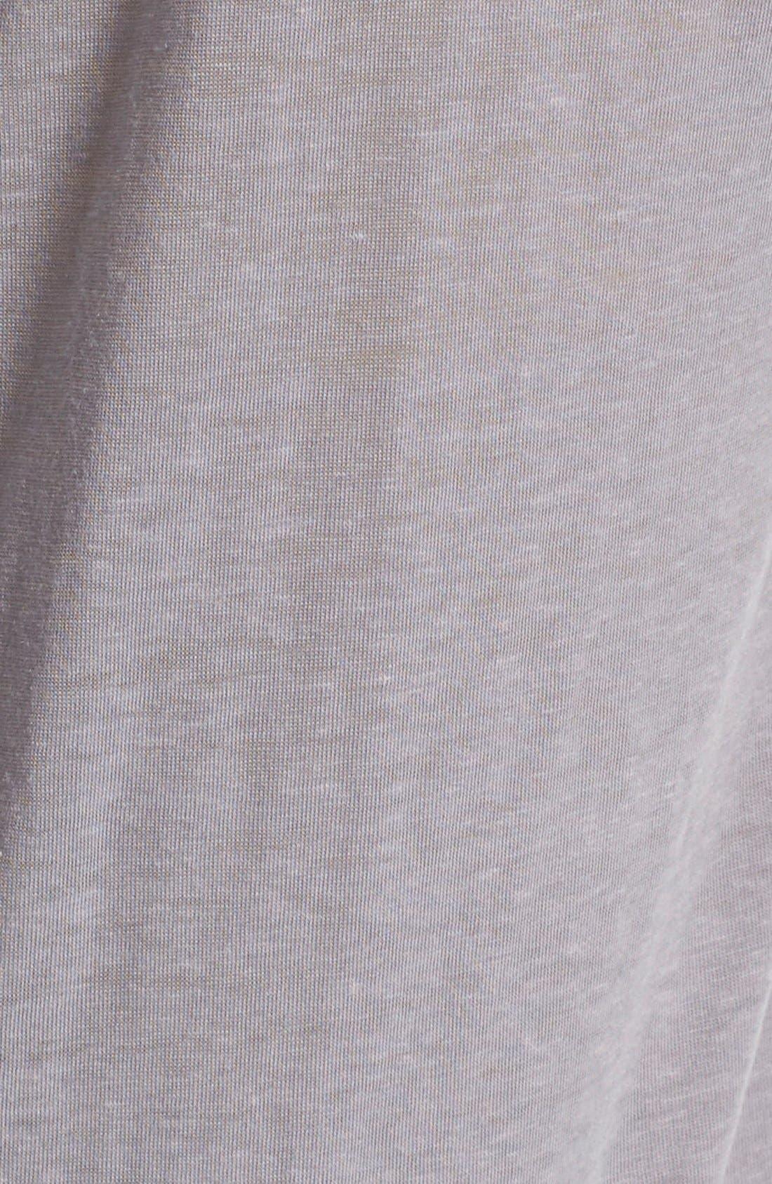 Alternate Image 5  - Free People 'Pearls' Raw Edge V-Neck Tee