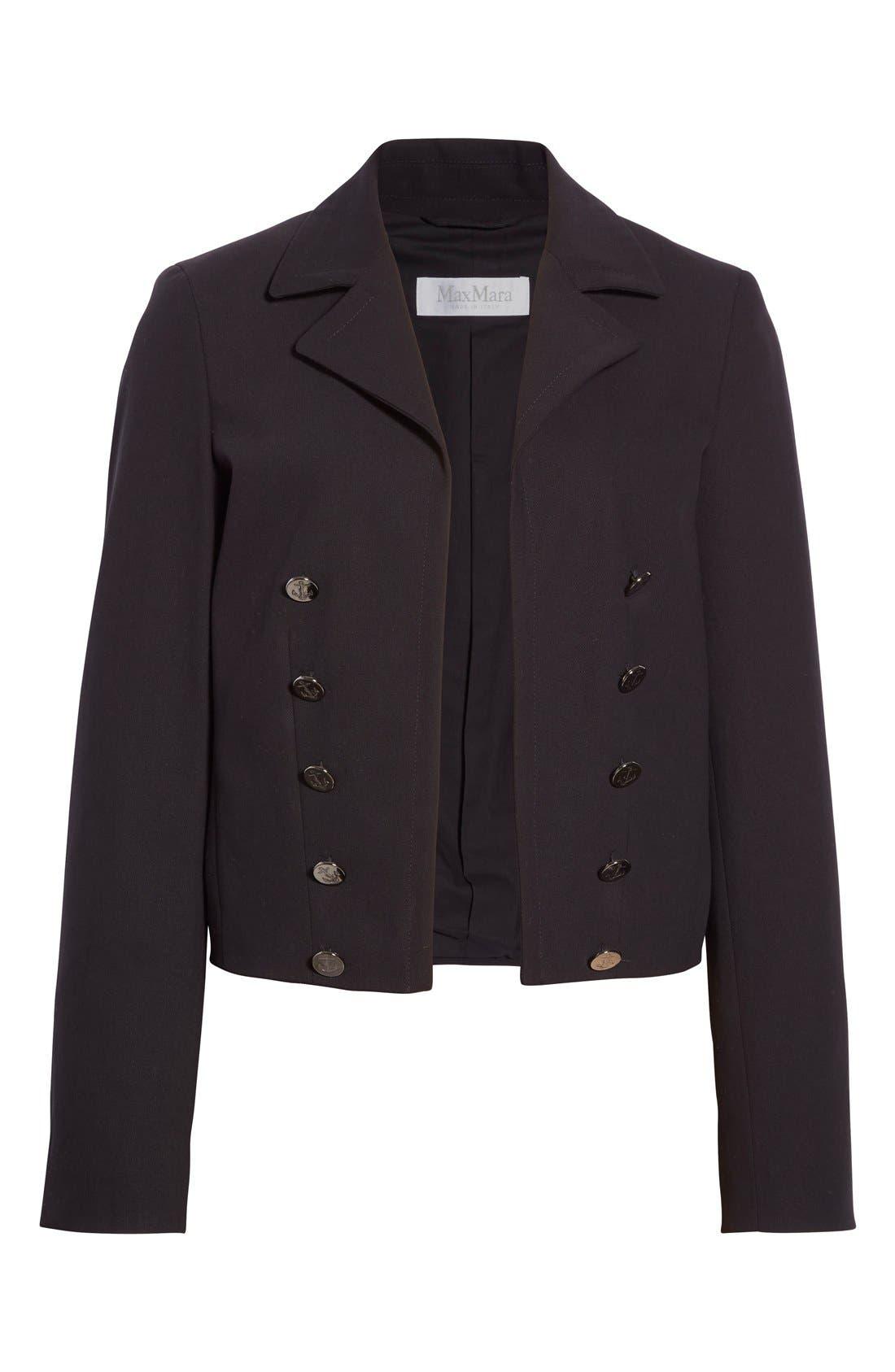 Alternate Image 4  - Max Mara 'Talpa' Stretch Cotton & Linen Jacket