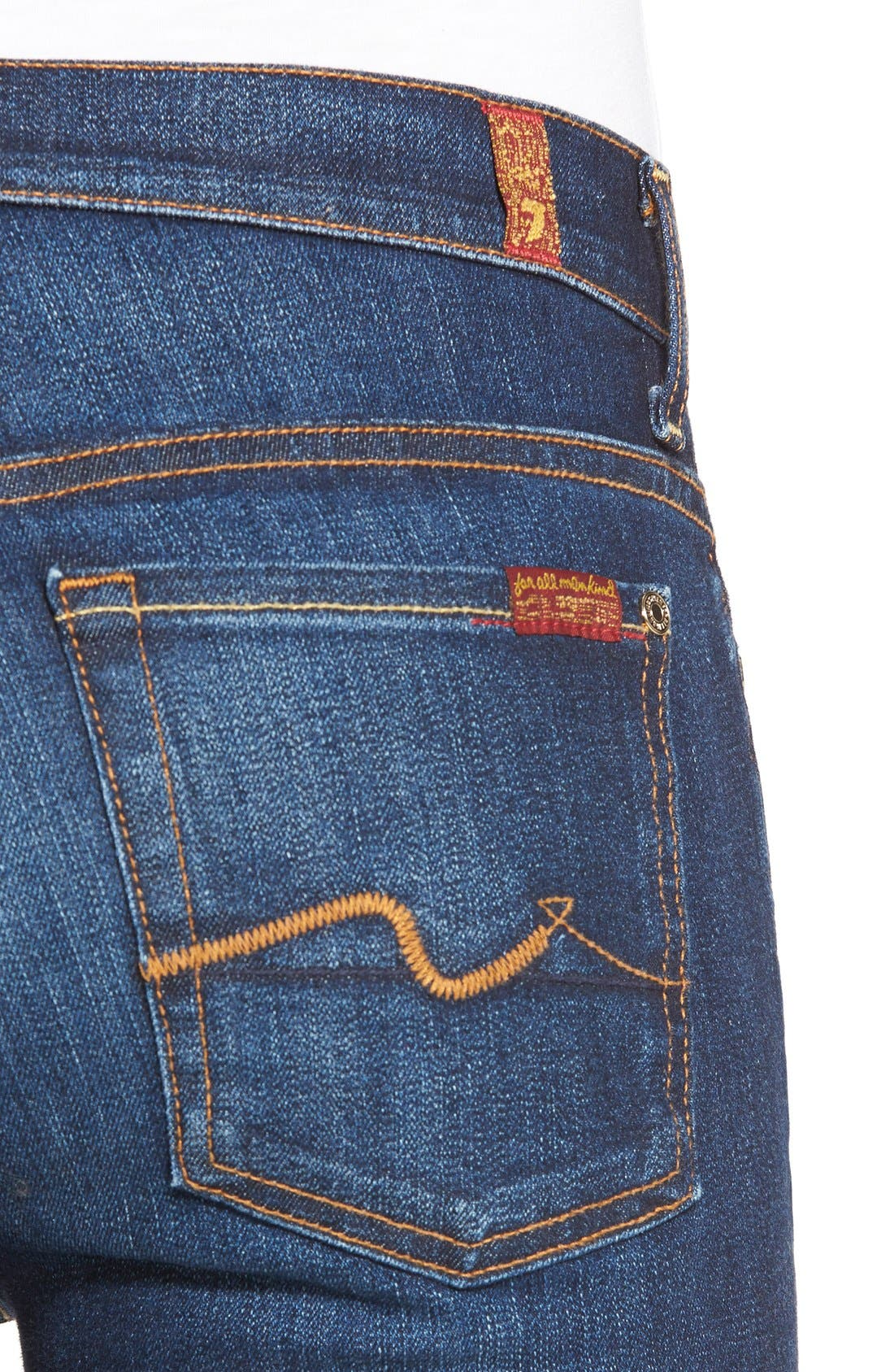 Alternate Image 4  - 7 For All Mankind® New Iconic Bootcut Jeans
