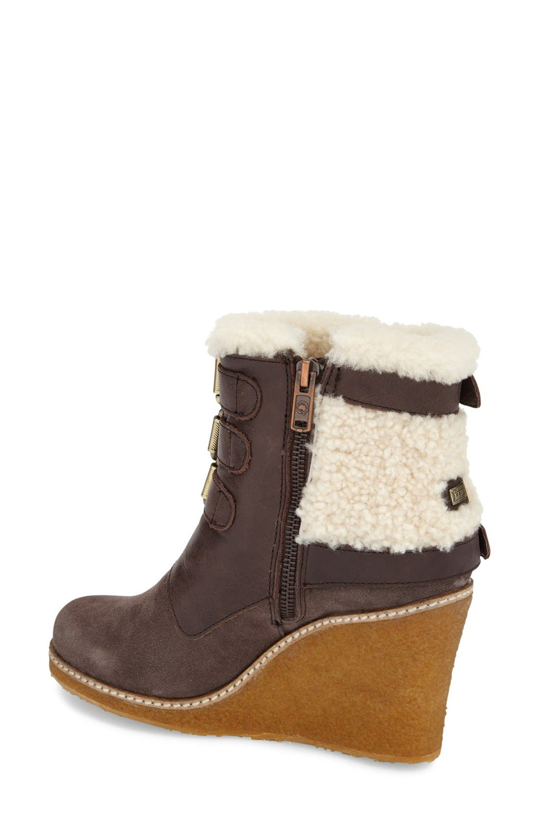 Alternate Image 2  - Australia Luxe Collective 'Monk' Genuine Calf Hair & Shearling Boot (Women)