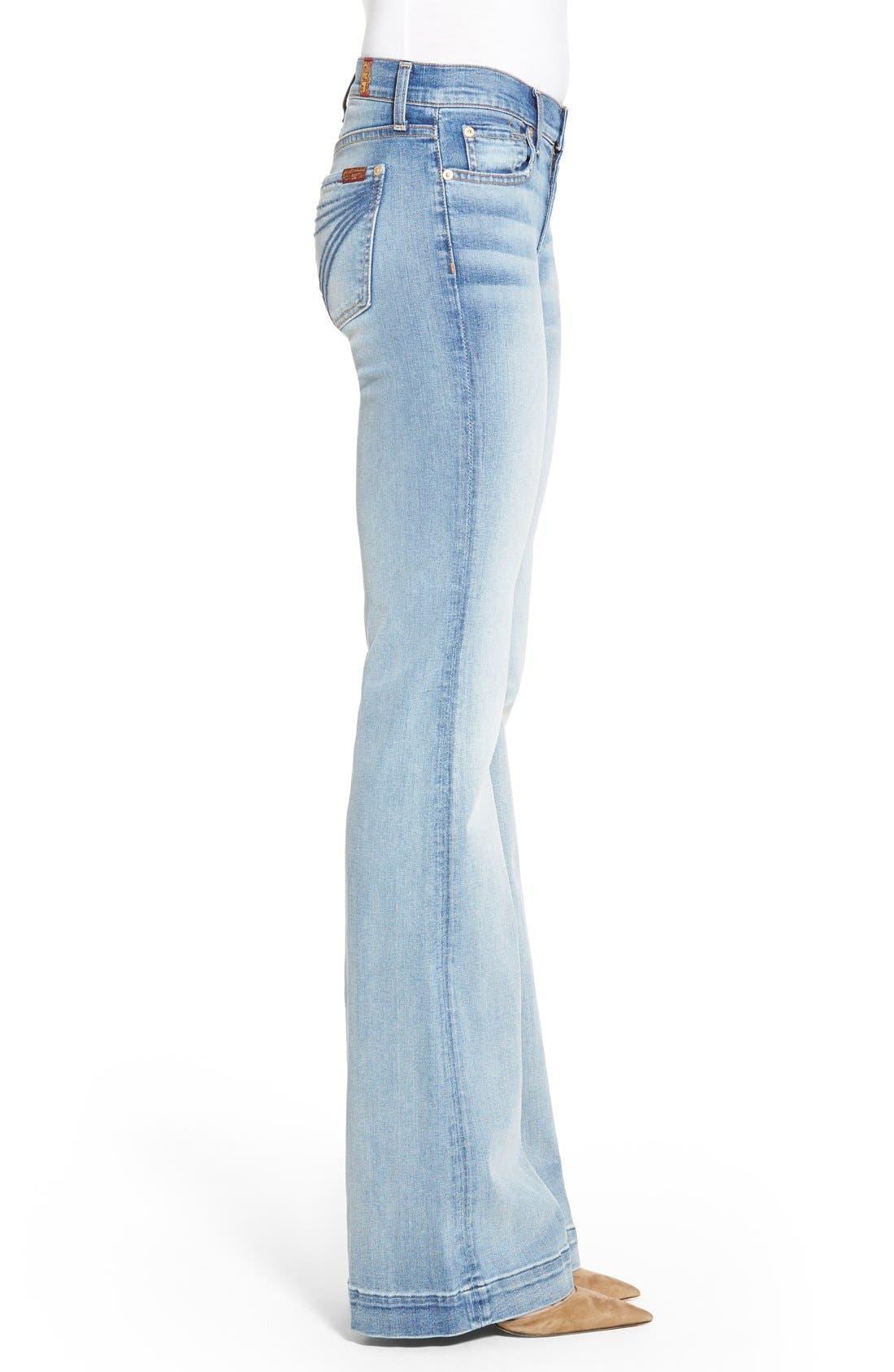 Alternate Image 3  - 7 For All Mankind® 'Dojo' Wide Leg Jeans