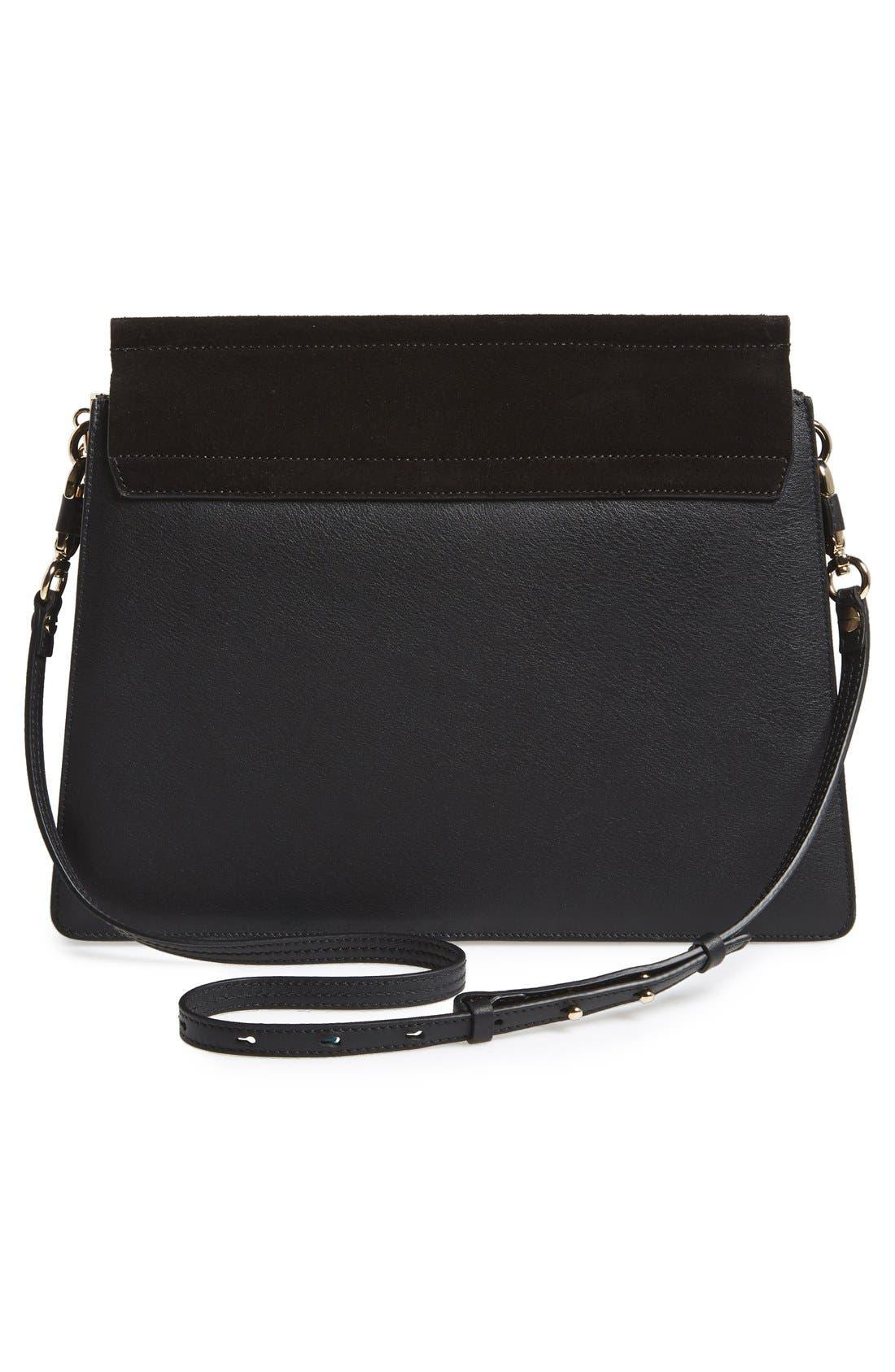 Alternate Image 3  - Chloé 'Faye' Leather & Suede Shoulder Bag