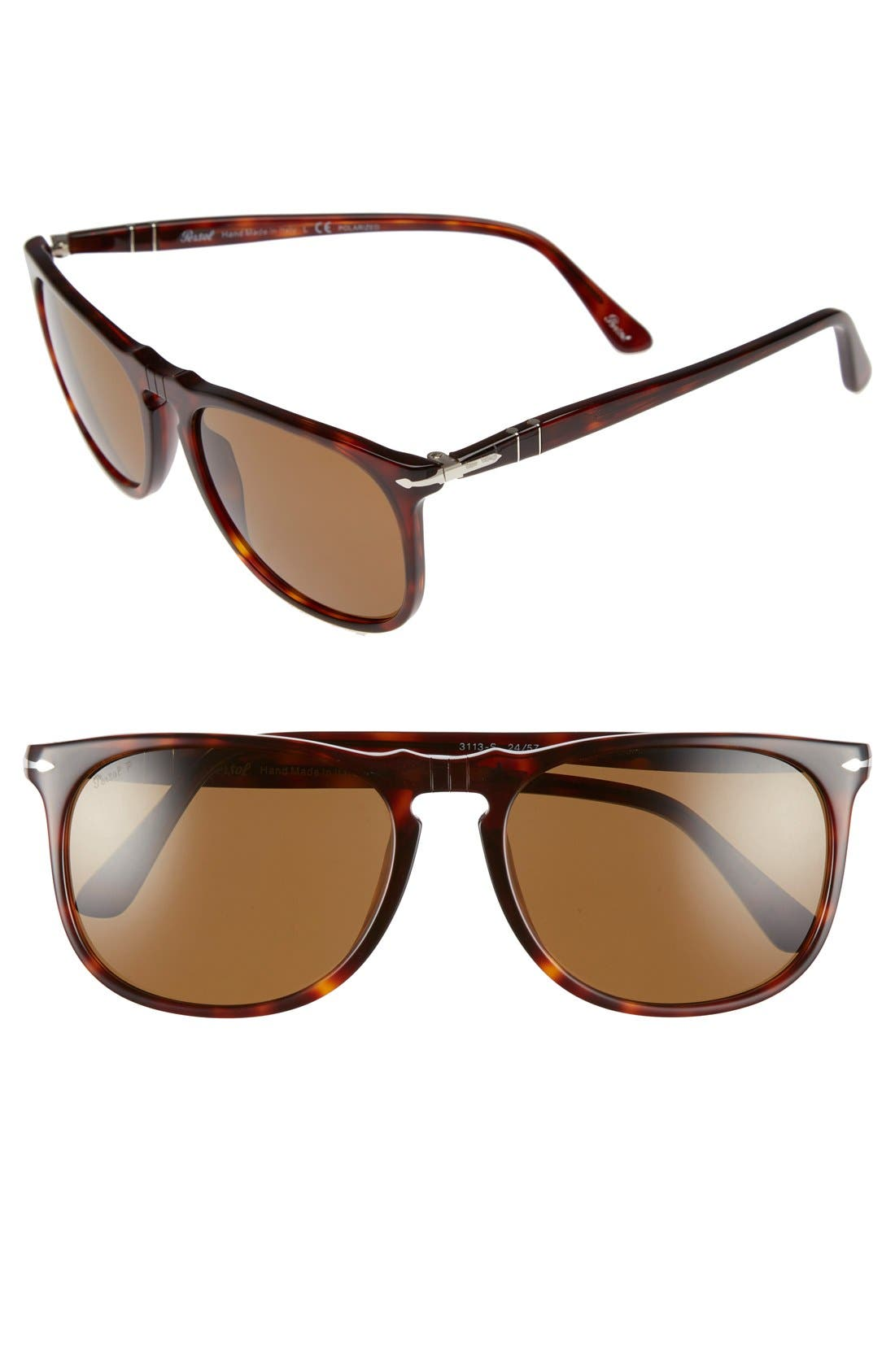 Alternate Image 1 Selected - Persol 57mm Polarized Sunglasses