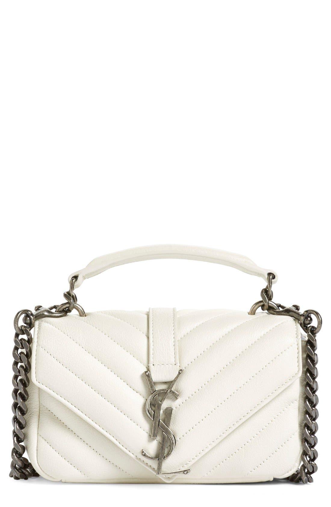 Alternate Image 1 Selected - Saint Laurent 'Monogram' Shoulder Bag