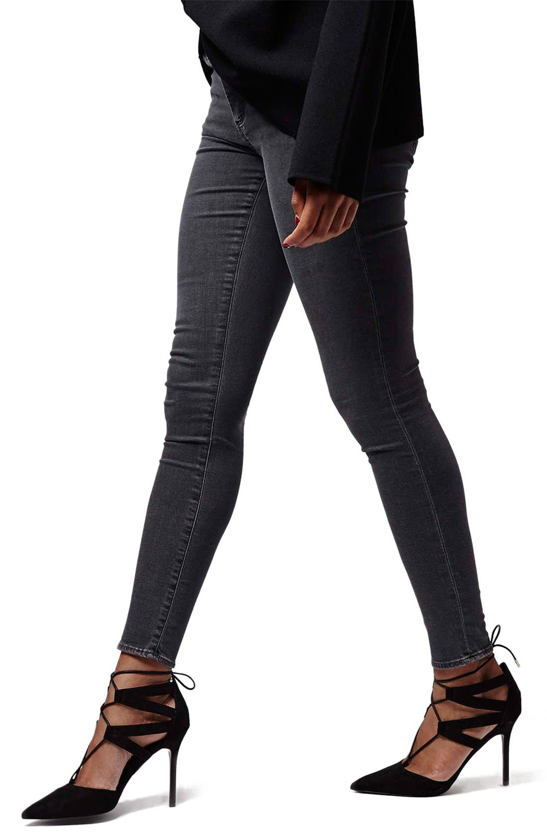Alternate Image 1 Selected - Topshop Moto 'Jamie' Skinny Jeans (Tall)