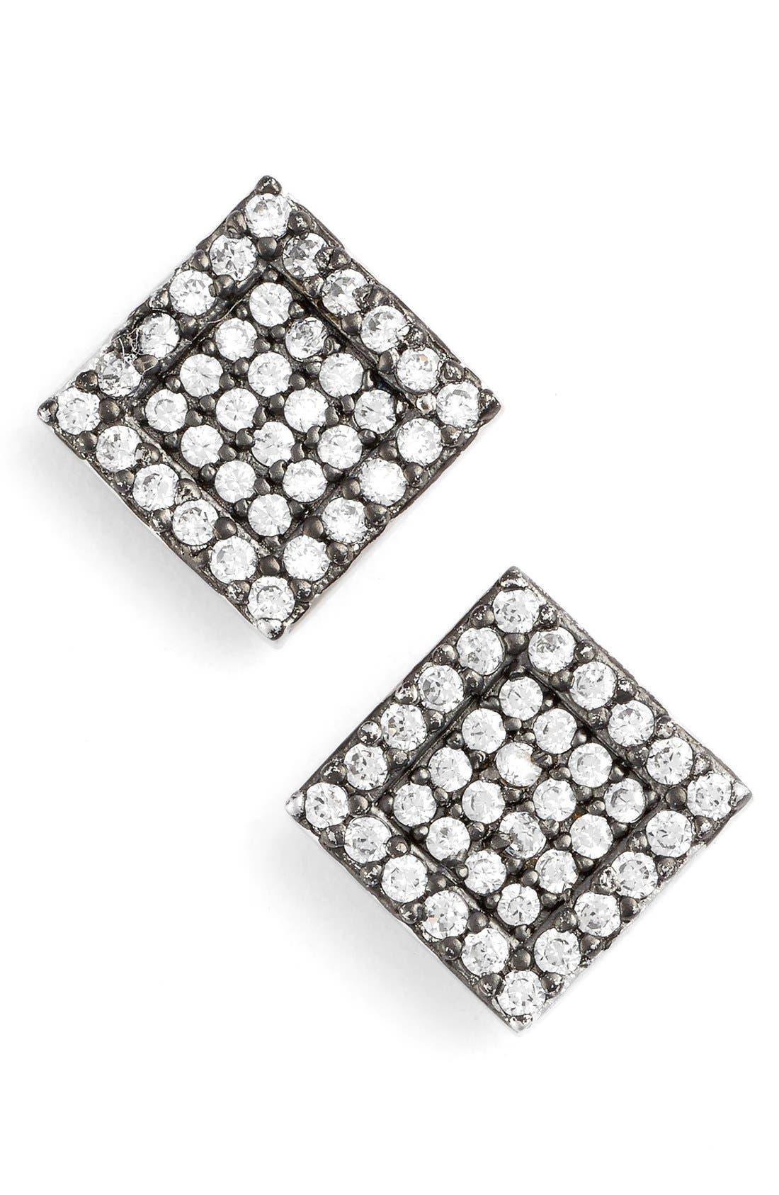 Alternate Image 1 Selected - FREIDA ROTHMAN 'Femme' Square Stud Earrings