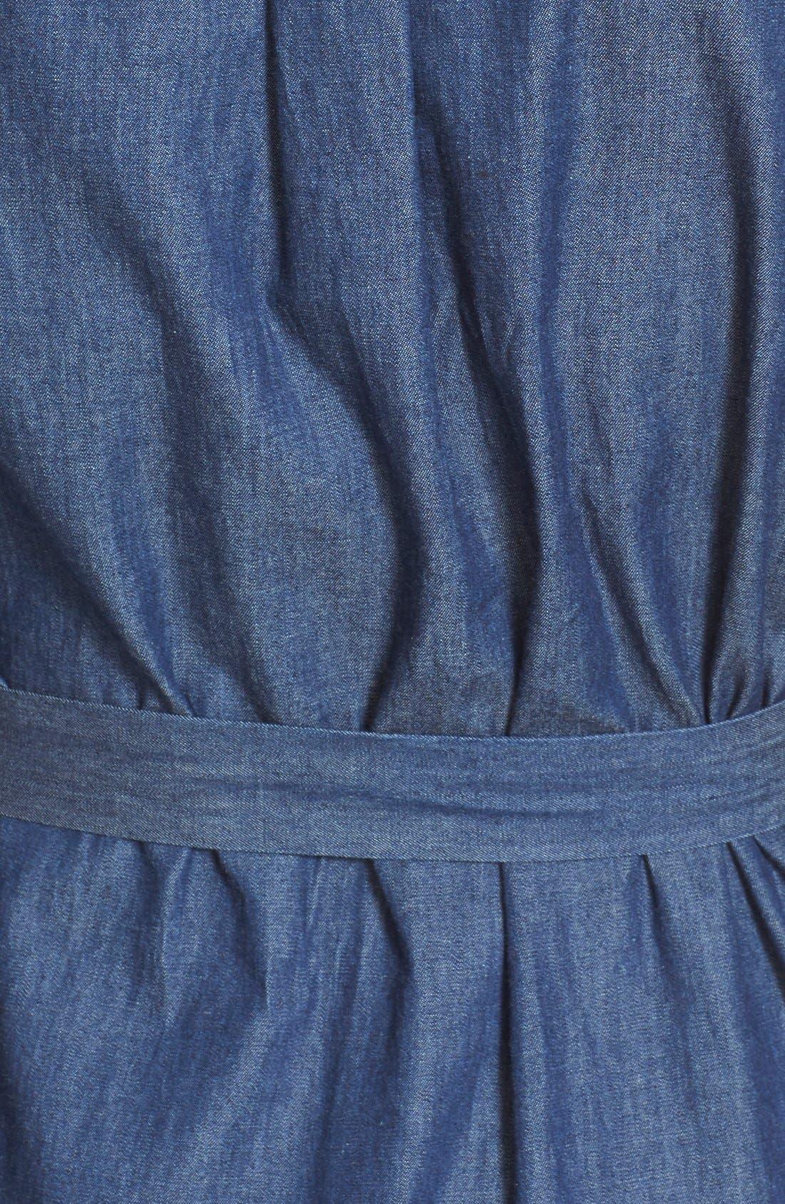 Alternate Image 5  - Equipment 'Delany' Chambray Cotton Shirtdress