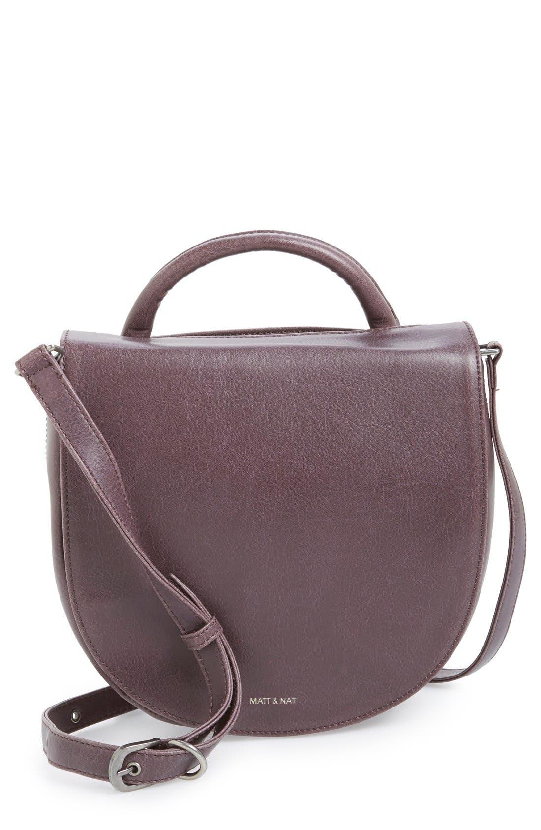 Alternate Image 1 Selected - Matt & Nat 'Parabole' Vegan Leather Crossbody Bag