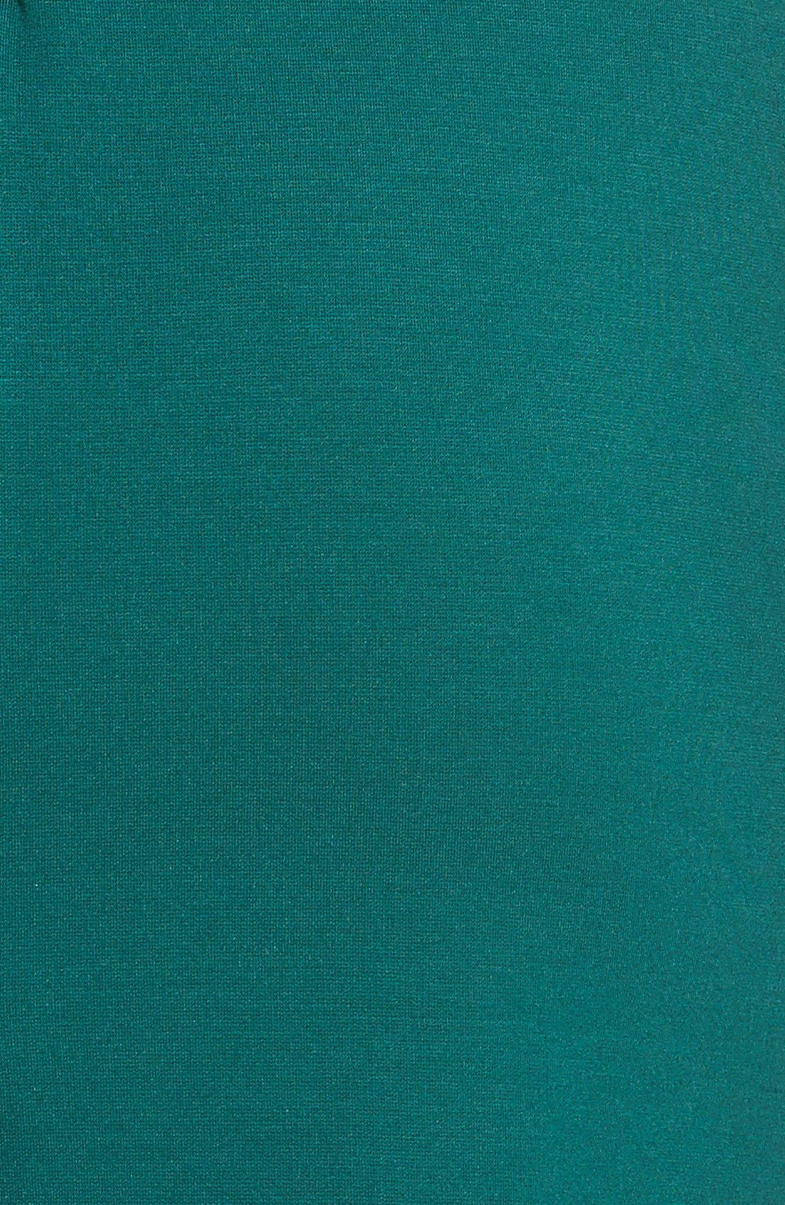 Alternate Image 5  - Halogen® Ponte Dress (Regular & Petite)
