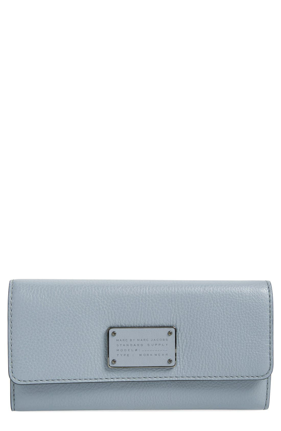 Alternate Image 1 Selected - MARC BY MARC JACOBS Trifold Flap Wallet
