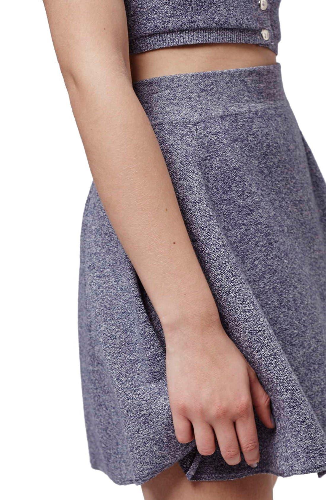 Alternate Image 7  - Topshop Flippy A-Line Skirt