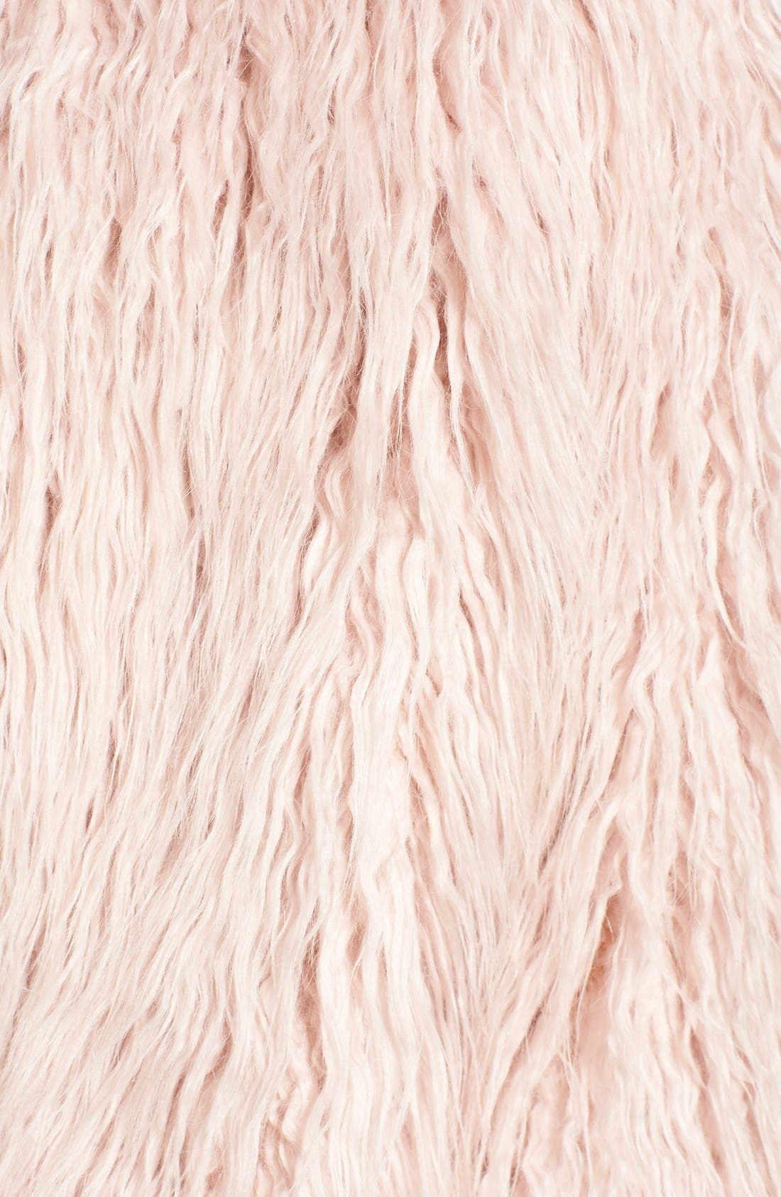 Alternate Image 5  - Pam & Gela 'Mongolian' Faux Fur Coat