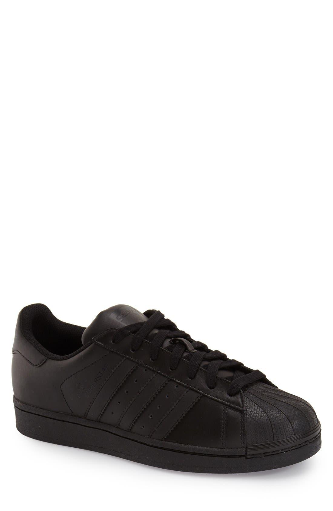 Alternate Image 1 Selected - adidas 'Superstar Foundation' Sneaker (Men) (Regular Retail Price: $79.95)