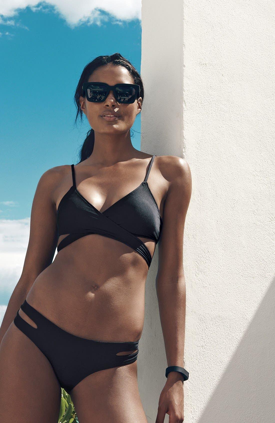 Alternate Image 5  - L Space Chloe Wrap Bikini Top