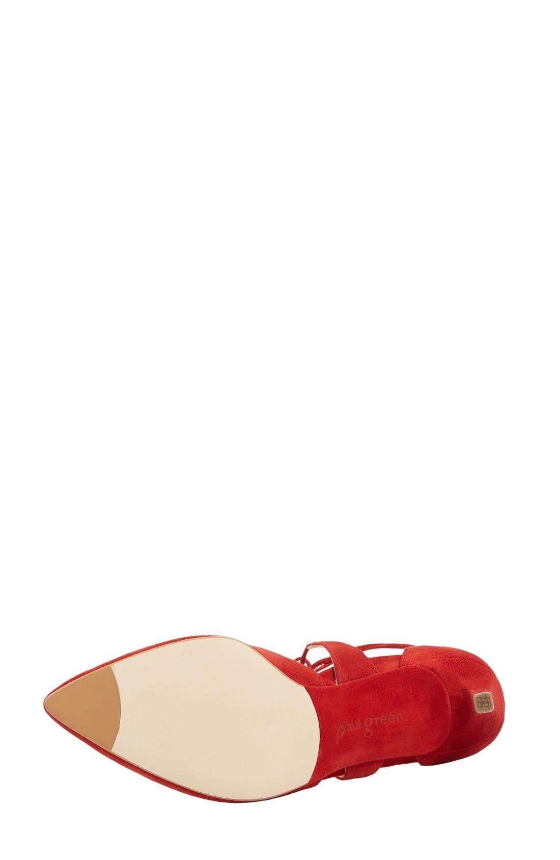 Alternate Image 4  - Paul Green 'Helena' Ghillie Pump (Women)