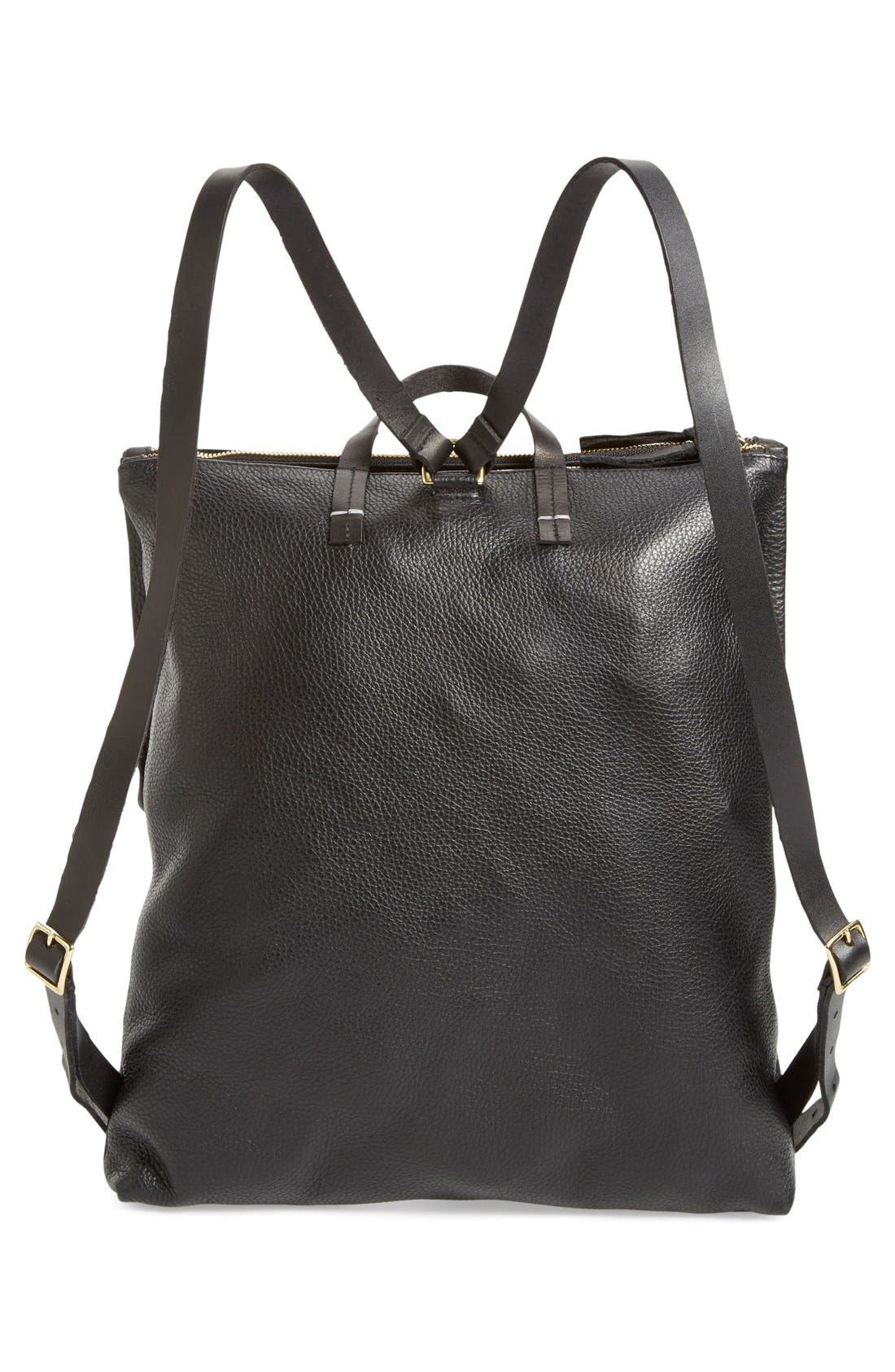 Alternate Image 3  - Clare V. 'Agnes Maison' Leather Backpack