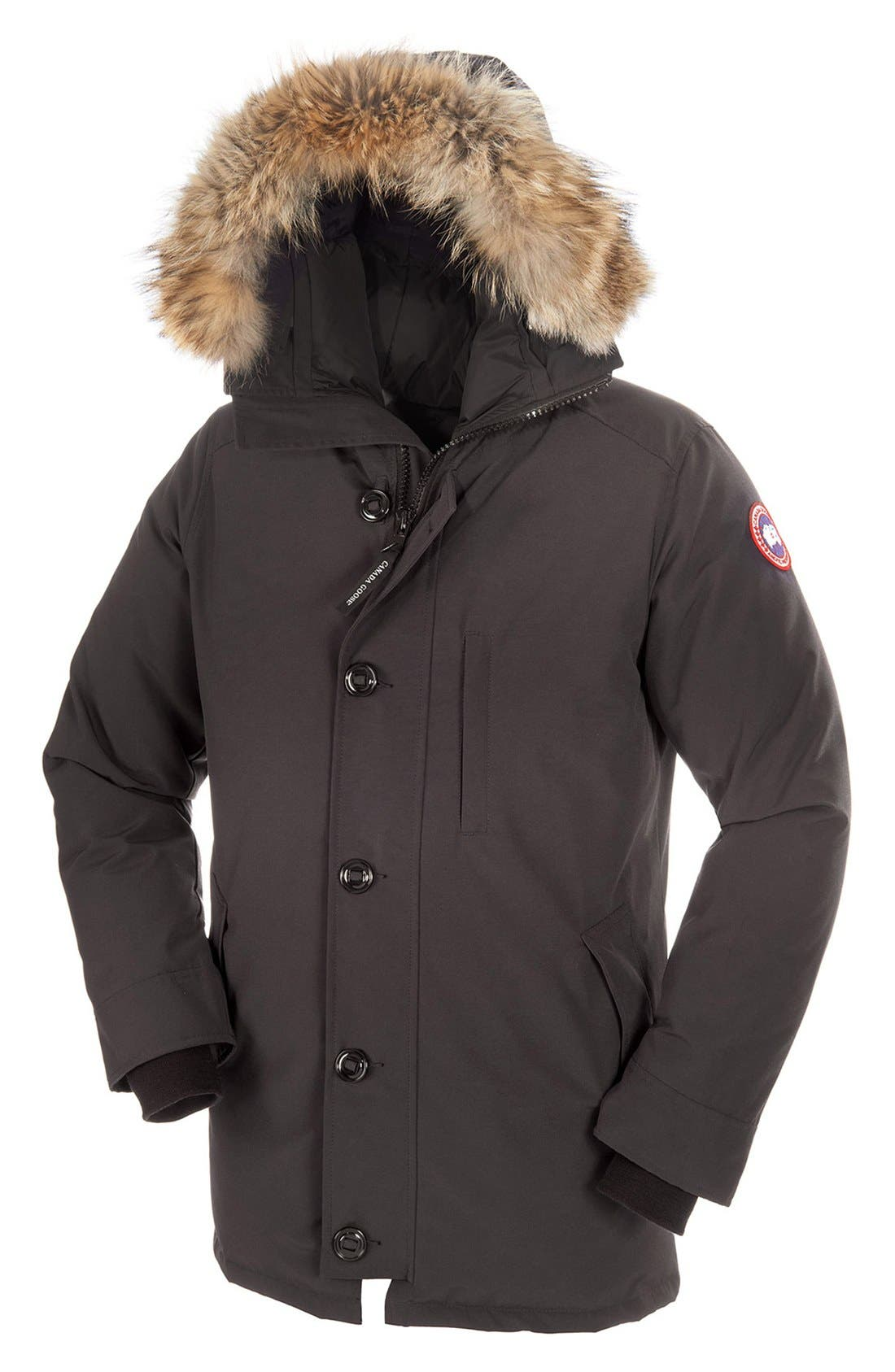 Alternate Image 3  - Canada Goose 'Chateau' Slim Fit Genuine Coyote Fur Trim Jacket