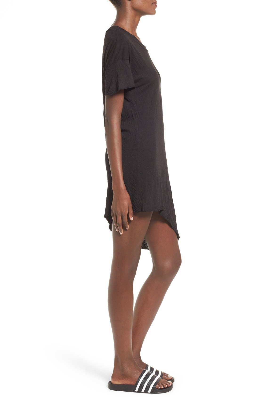 Alternate Image 3  - LNA Asymmetrical Hem Shift Dress