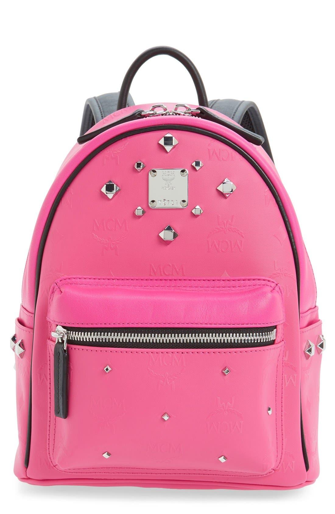 Main Image - MCM 'Mini Stark Odeon' Studded Backpack