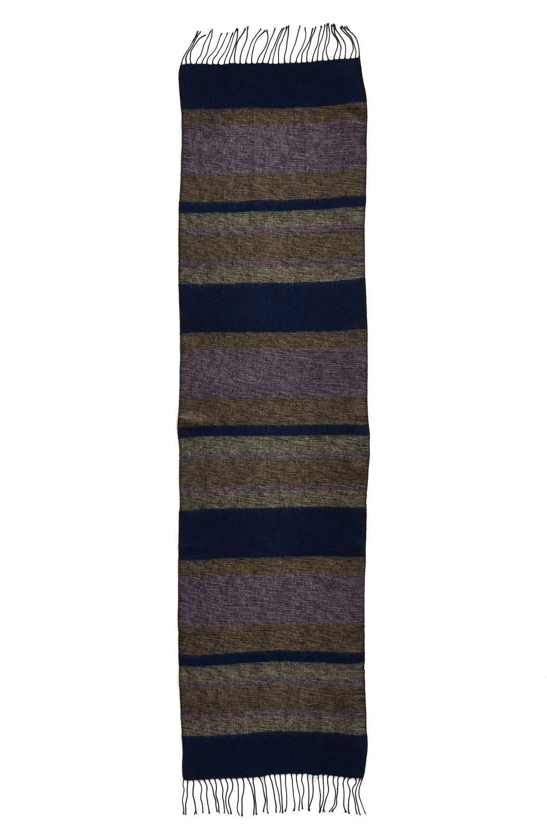 Alternate Image 1 Selected - Echo 'Meadow Stripe' Wrap Scarf