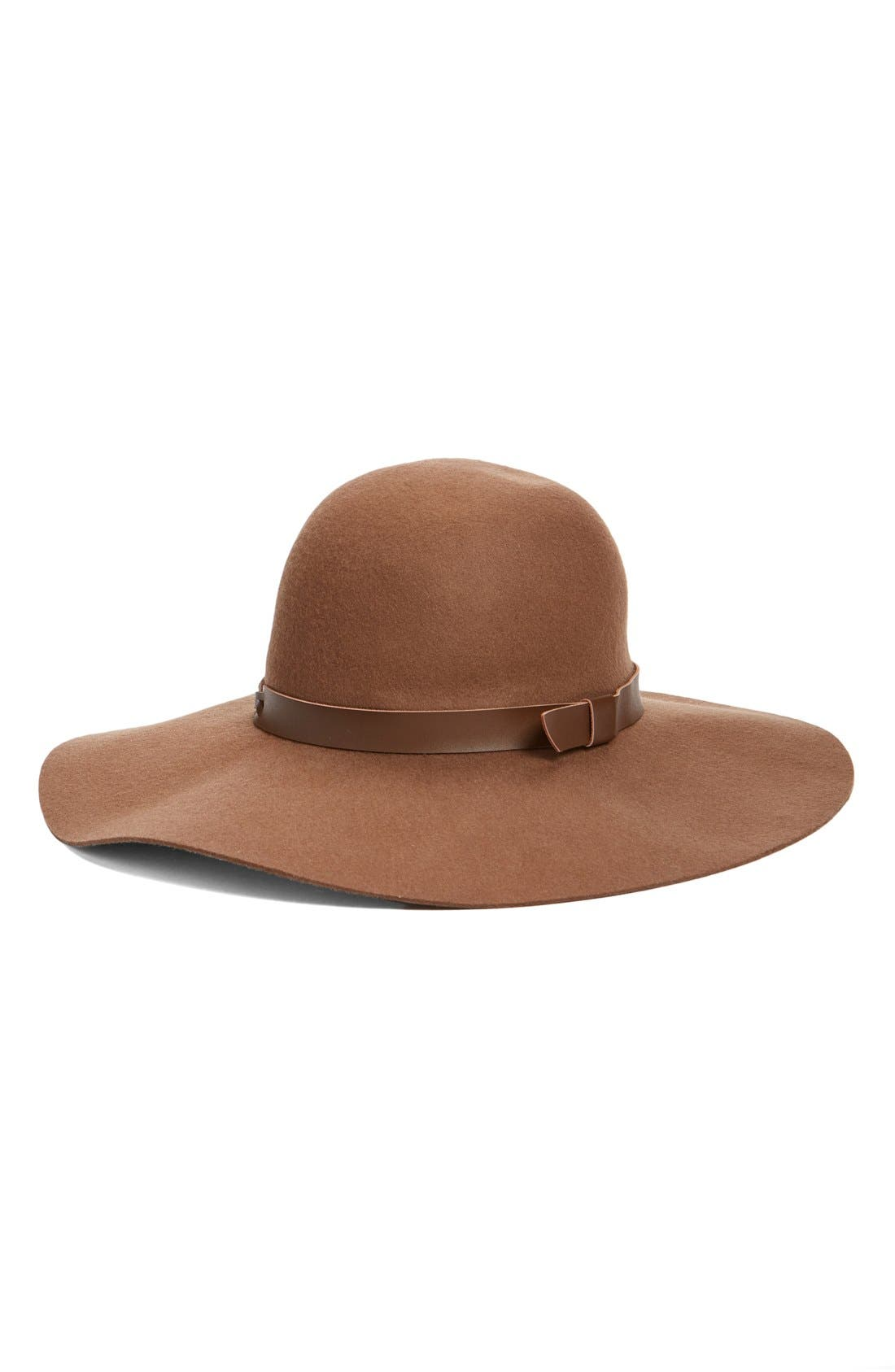 Main Image - Hinge Floppy Wool Felt Hat