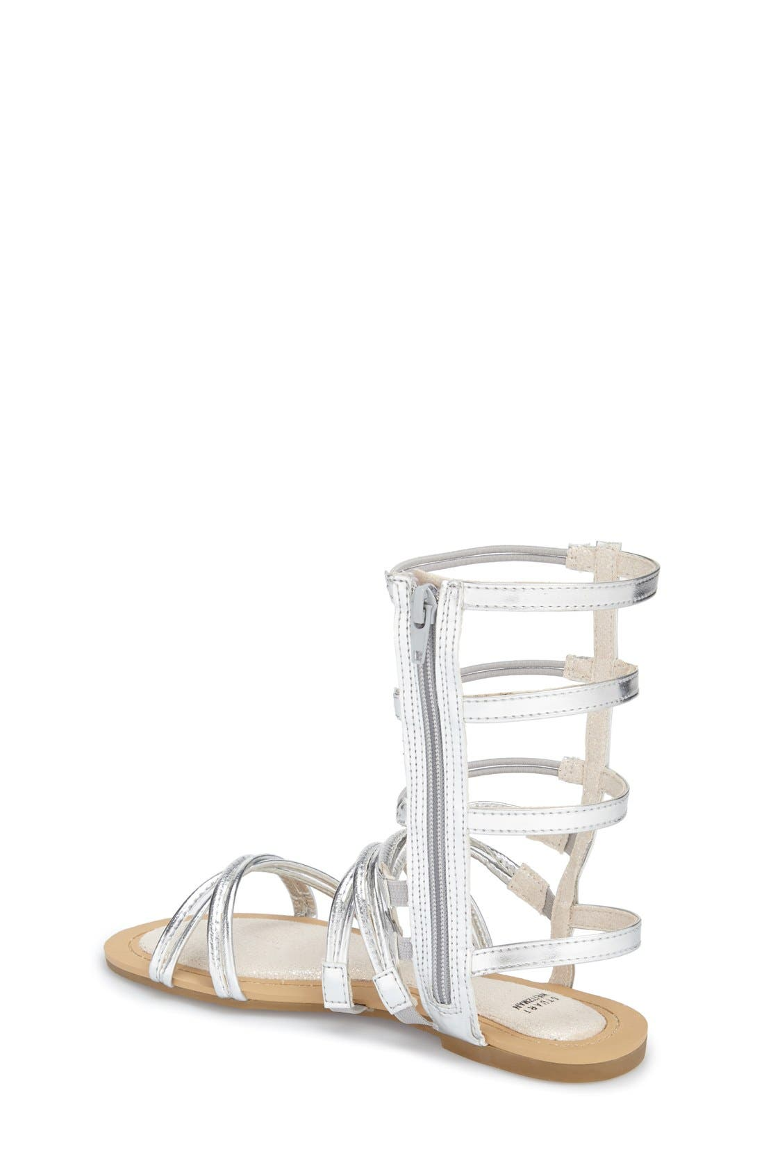 Alternate Image 2  - Stuart Weitzman 'Camia Sparata' Gladiator Sandal (Little Kid & Big Kid)