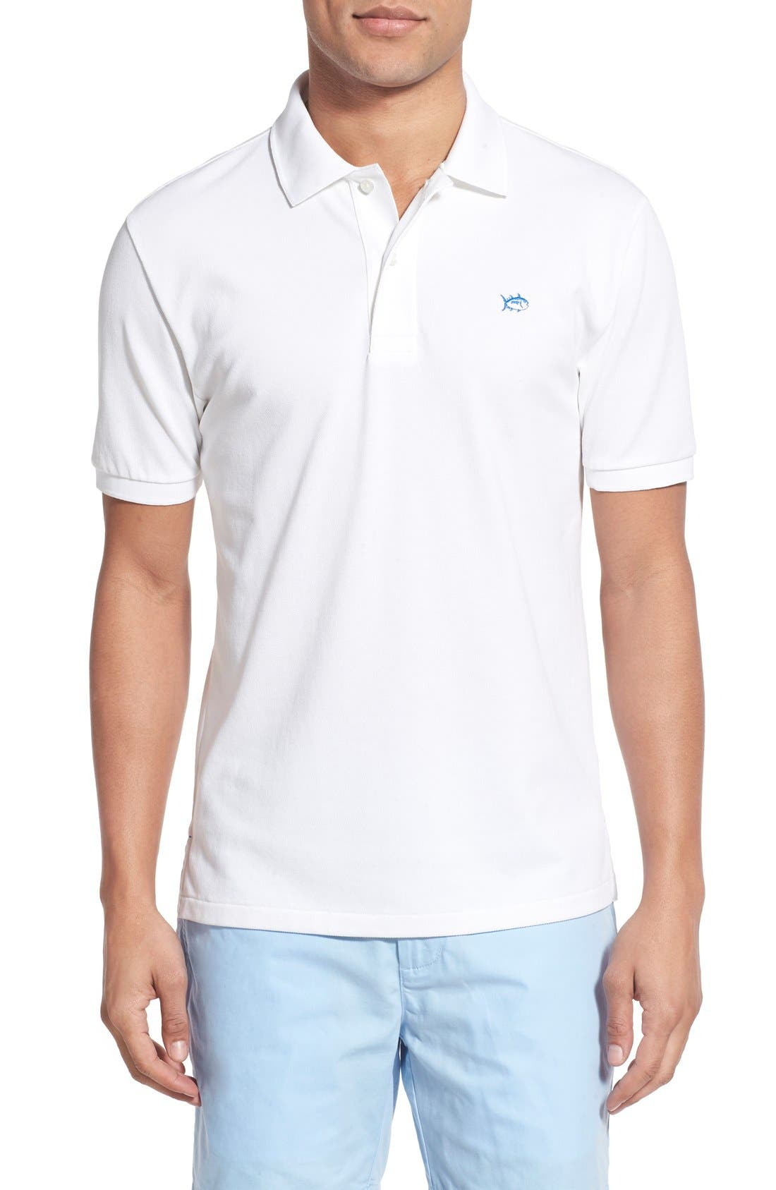 Southern Tide 'Skipjack Micro Piqué' Stretch Cotton Polo