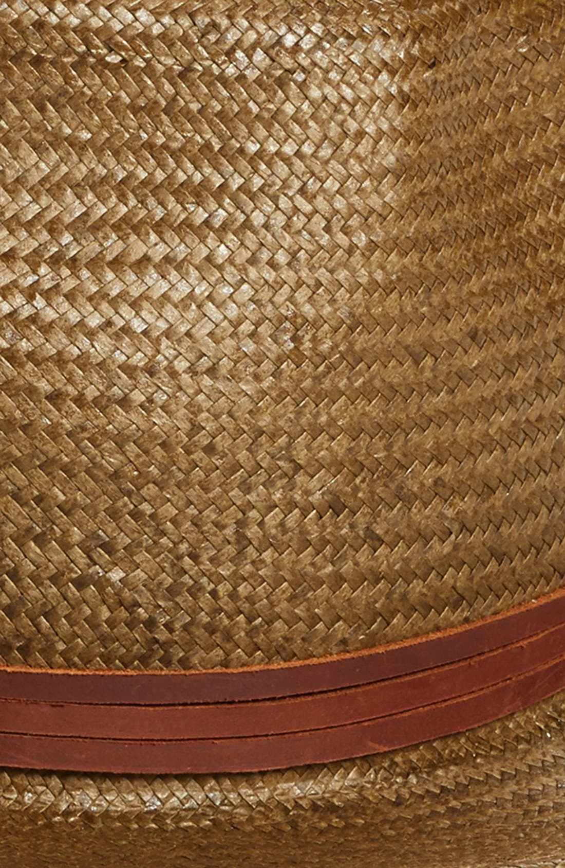Alternate Image 2  - Brixton 'Pacific' Straw Fedora