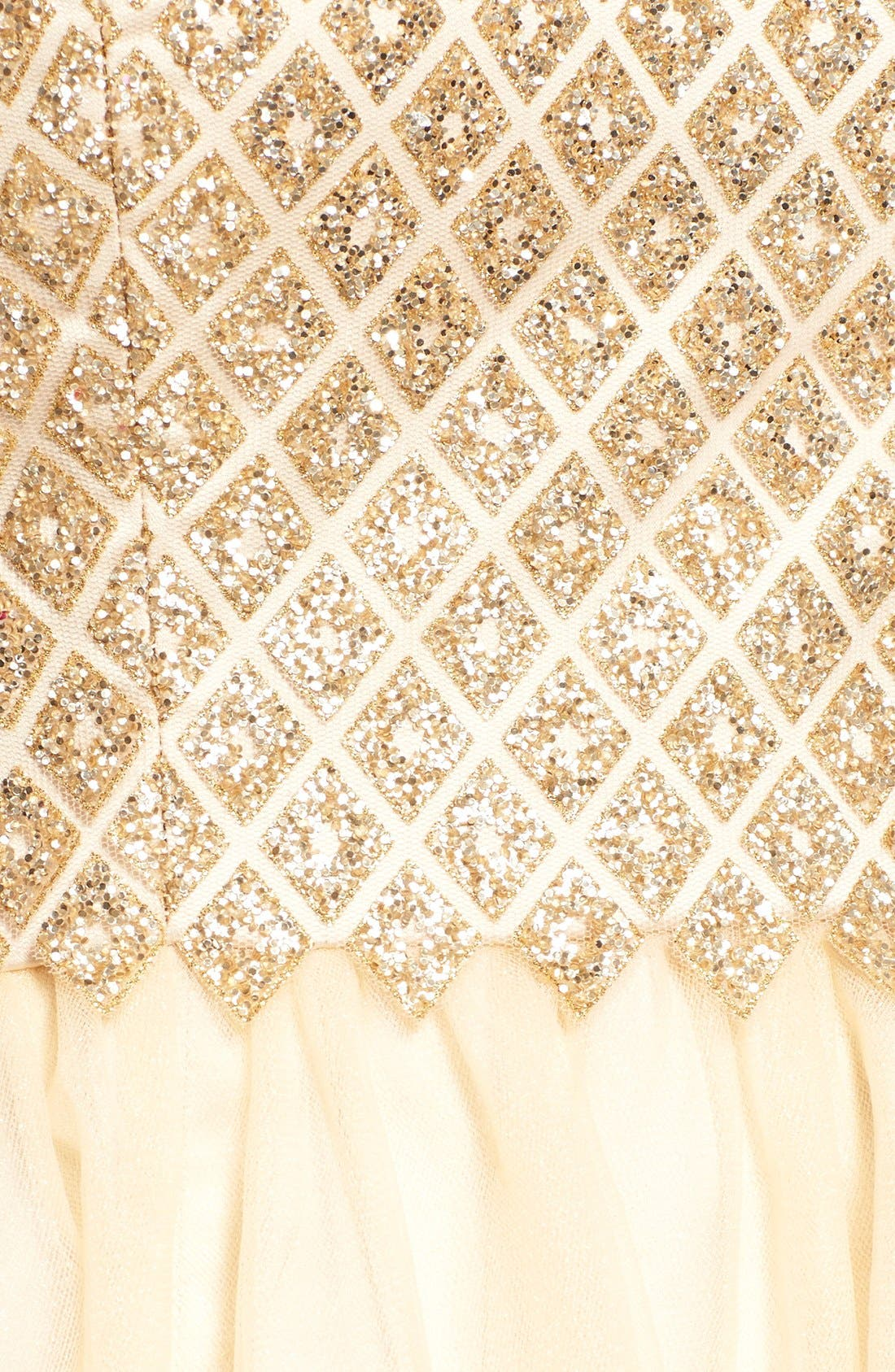 Alternate Image 5  - a. drea Strapless Glitter Bodice Fit & Flare Dress