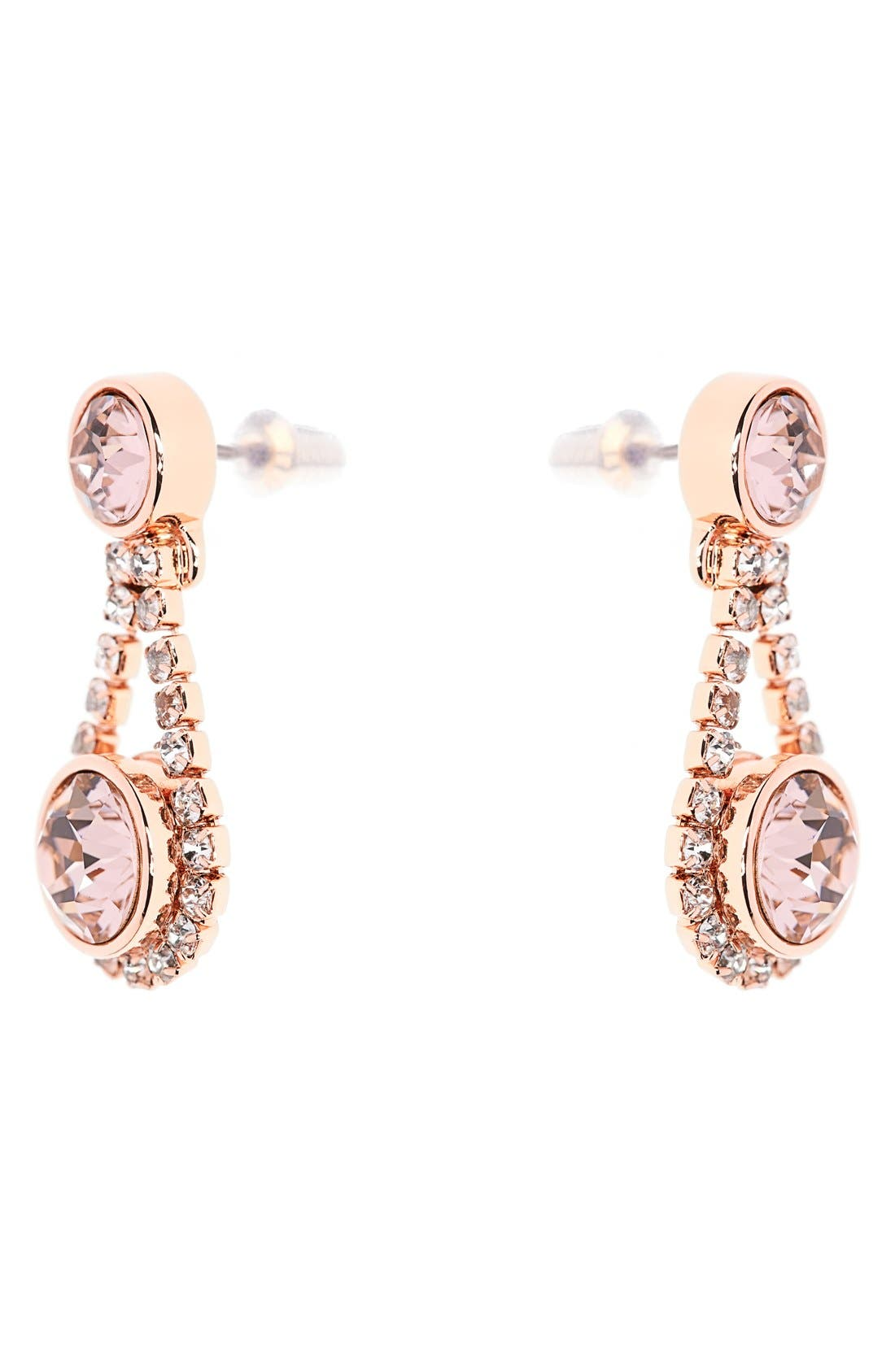 Alternate Image 2  - Ted Baker London 'Crystal Daisy' Drop Earrings
