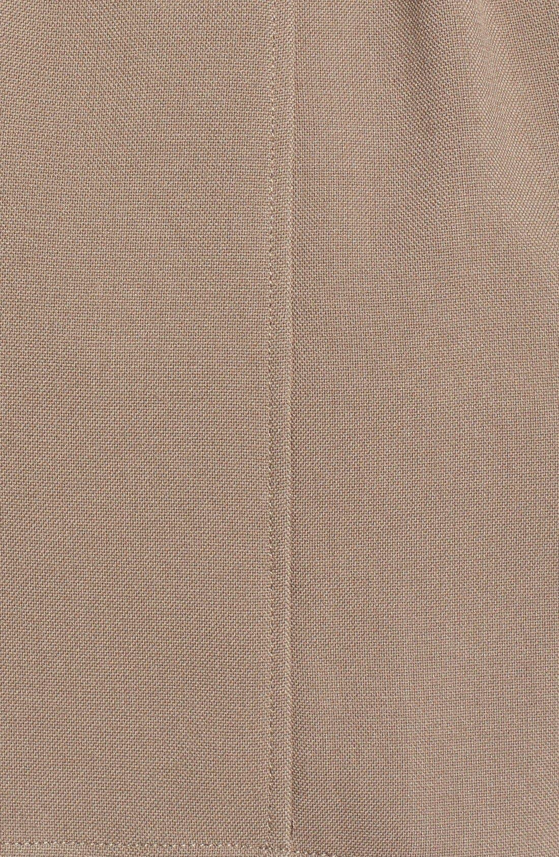 Alternate Image 5  - Soia & Kyo Hip Length Drapey Hooded Wrap Coat