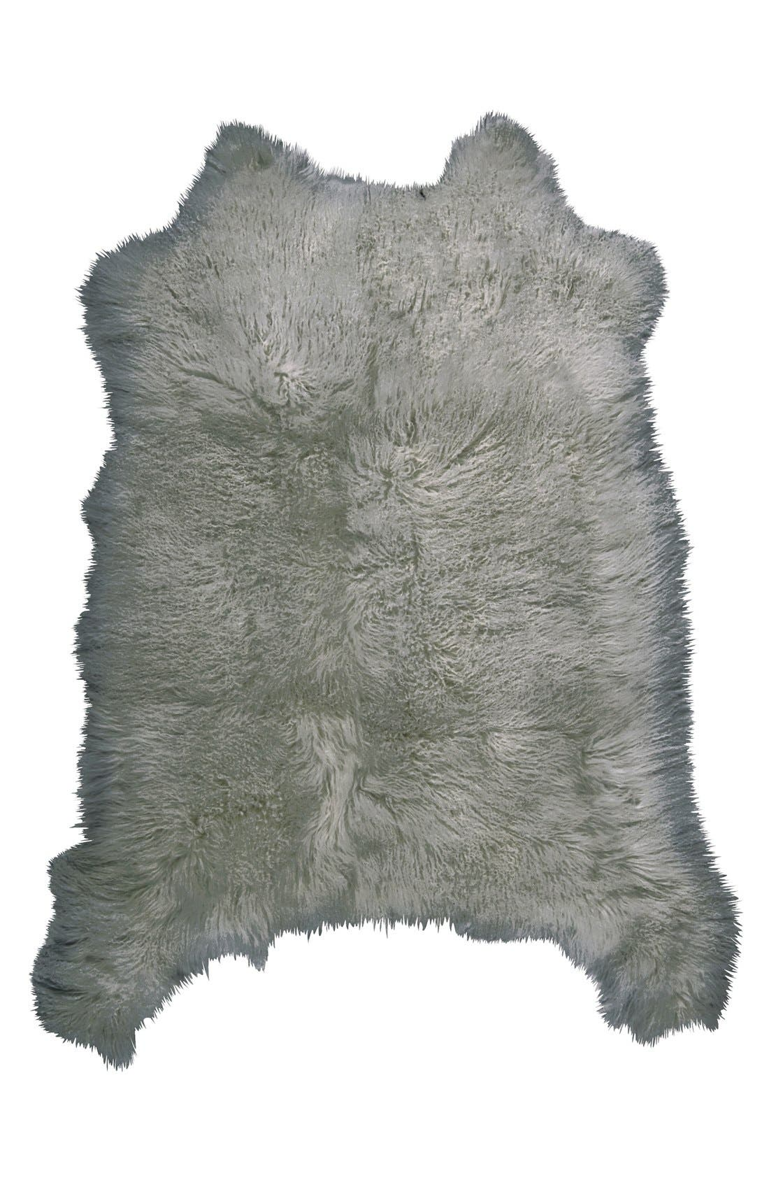 Alternate Image 1 Selected - Mina Victory Genuine Sheepskin Rug