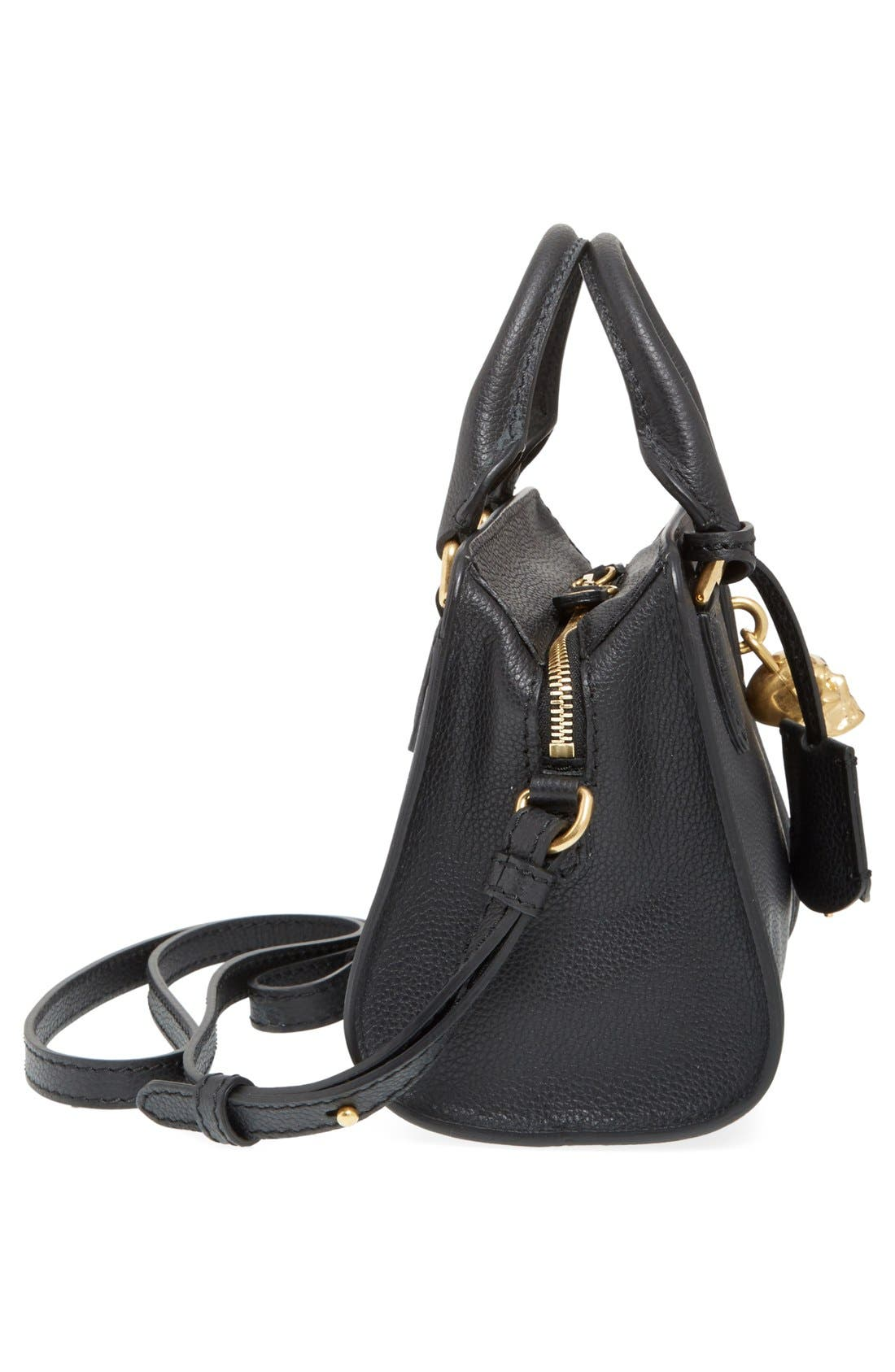 Alternate Image 5  - Alexander McQueen 'Mini Padlock' Calfskin Leather Satchel