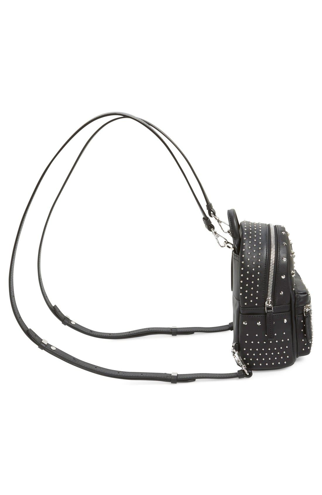 Alternate Image 5  - MCM 'X-Mini Stark - Bebe Boo' Studded Leather Backpack