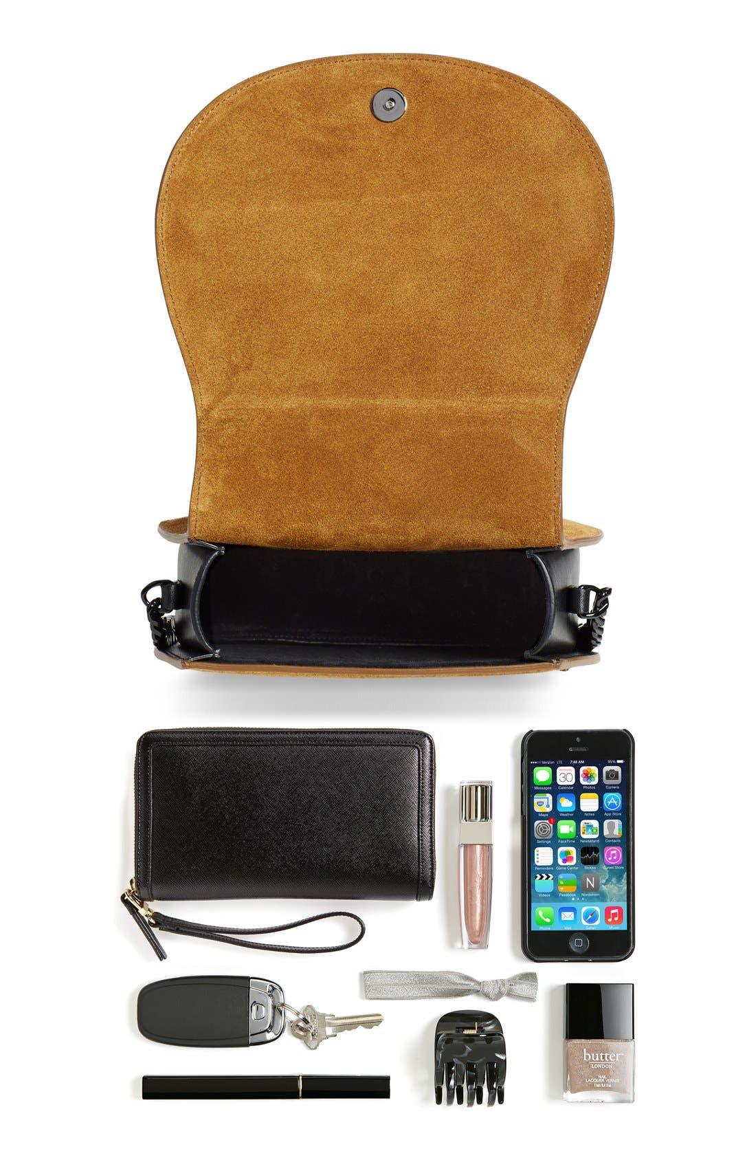Alternate Image 8  - Saint Laurent Passementerie Crossbody Bag