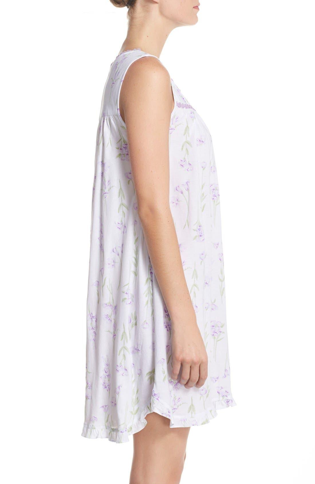 Alternate Image 3  - Eileen West Short Nightgown