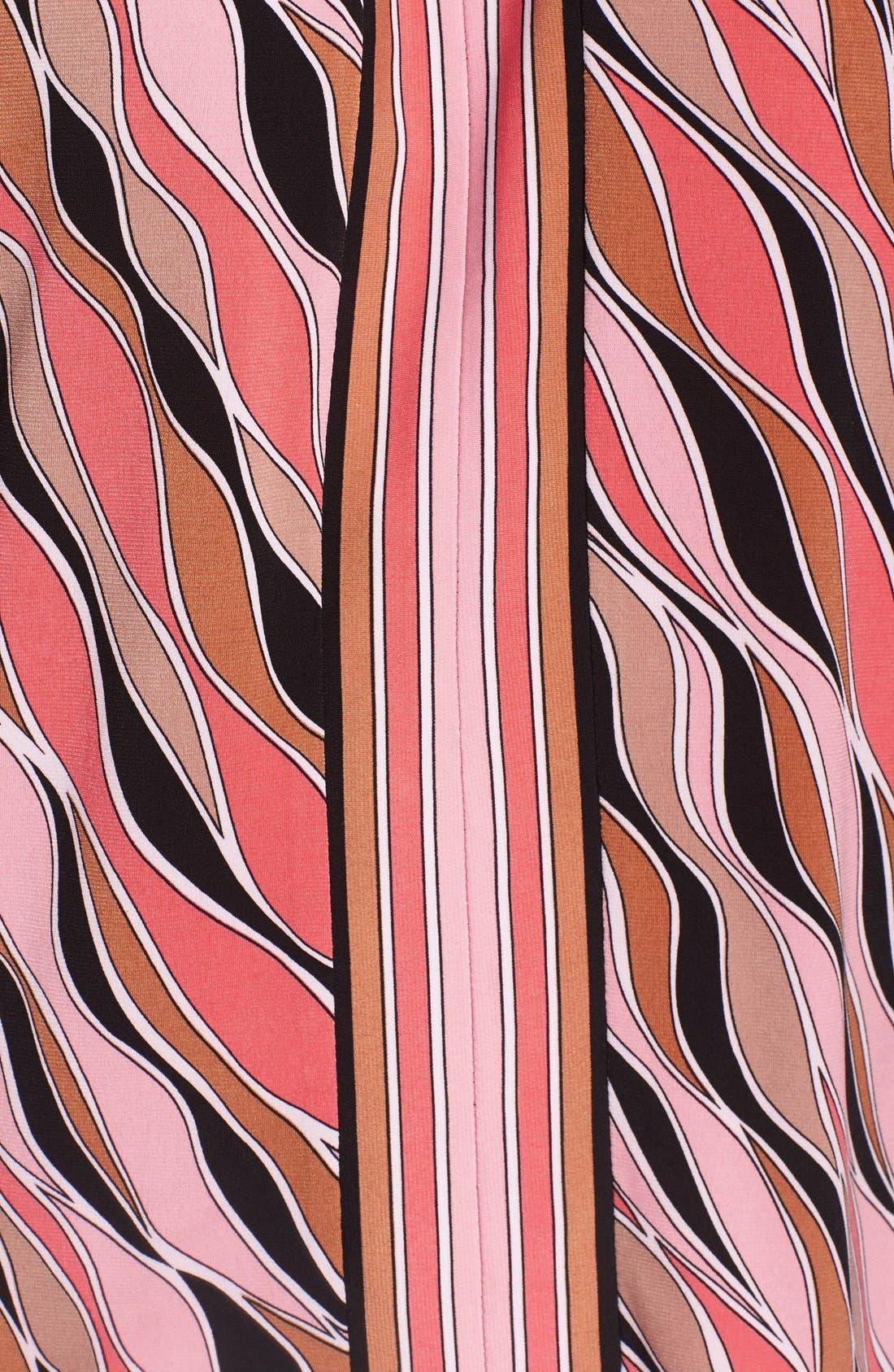 Alternate Image 5  - MICHAEL Michael Kors 'Coley' Print Jersey Halter Style Top