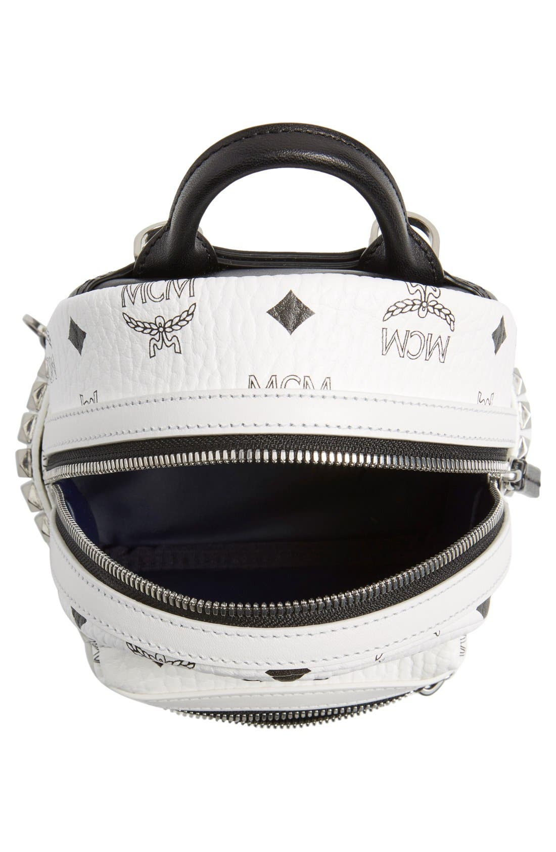 Alternate Image 4  - MCM 'X-Mini Stark Side Stud' Convertible Backpack